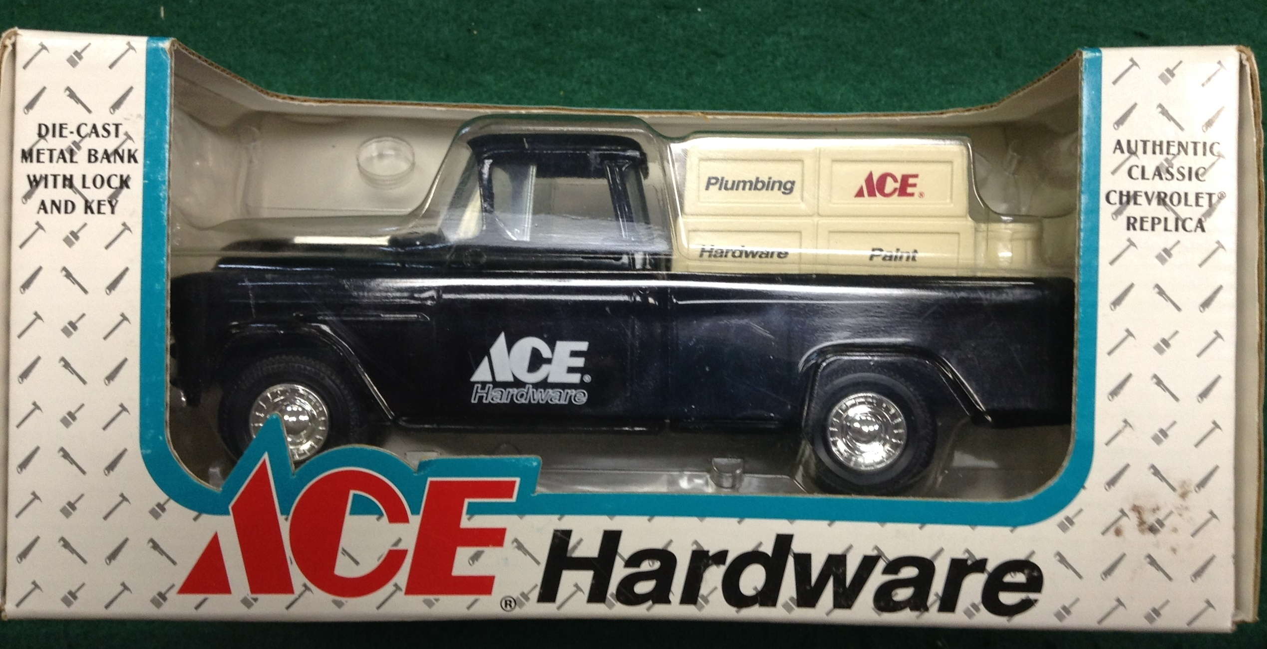 ACE HARDWARE DIE-CAST BANK TRUCK