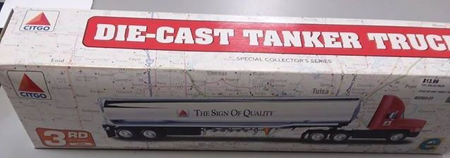 COLLECTIBLE CITGO DIE CAST TANKER TRUCK