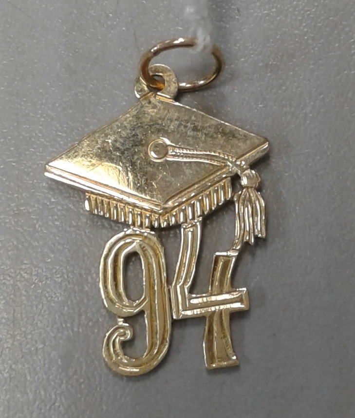 14KT - YELLOW GOLD - GRADUATION - CHARM - 1994