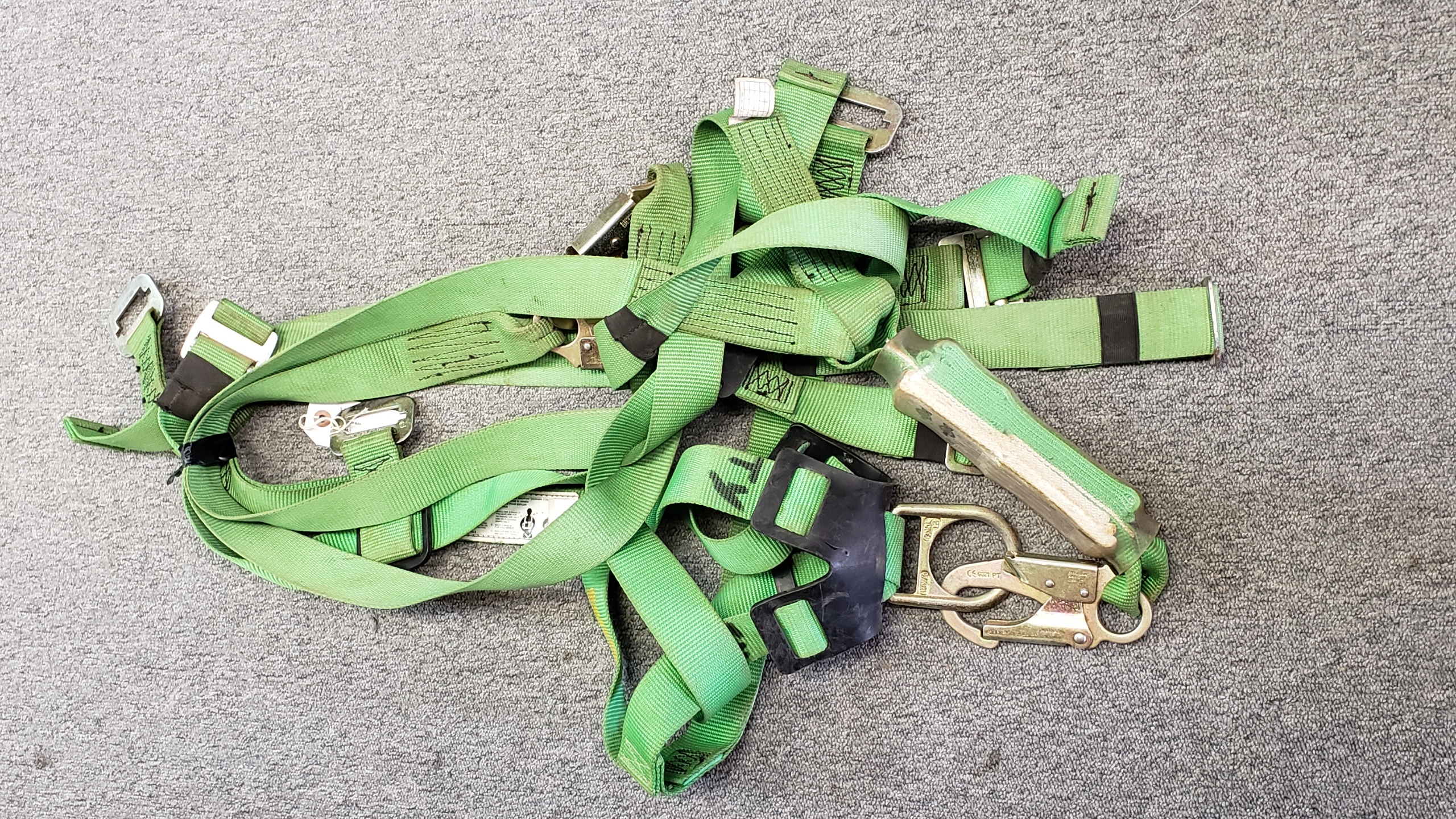 SAFE WAZE - 1040-DE - HARNESS GREEN BLACK