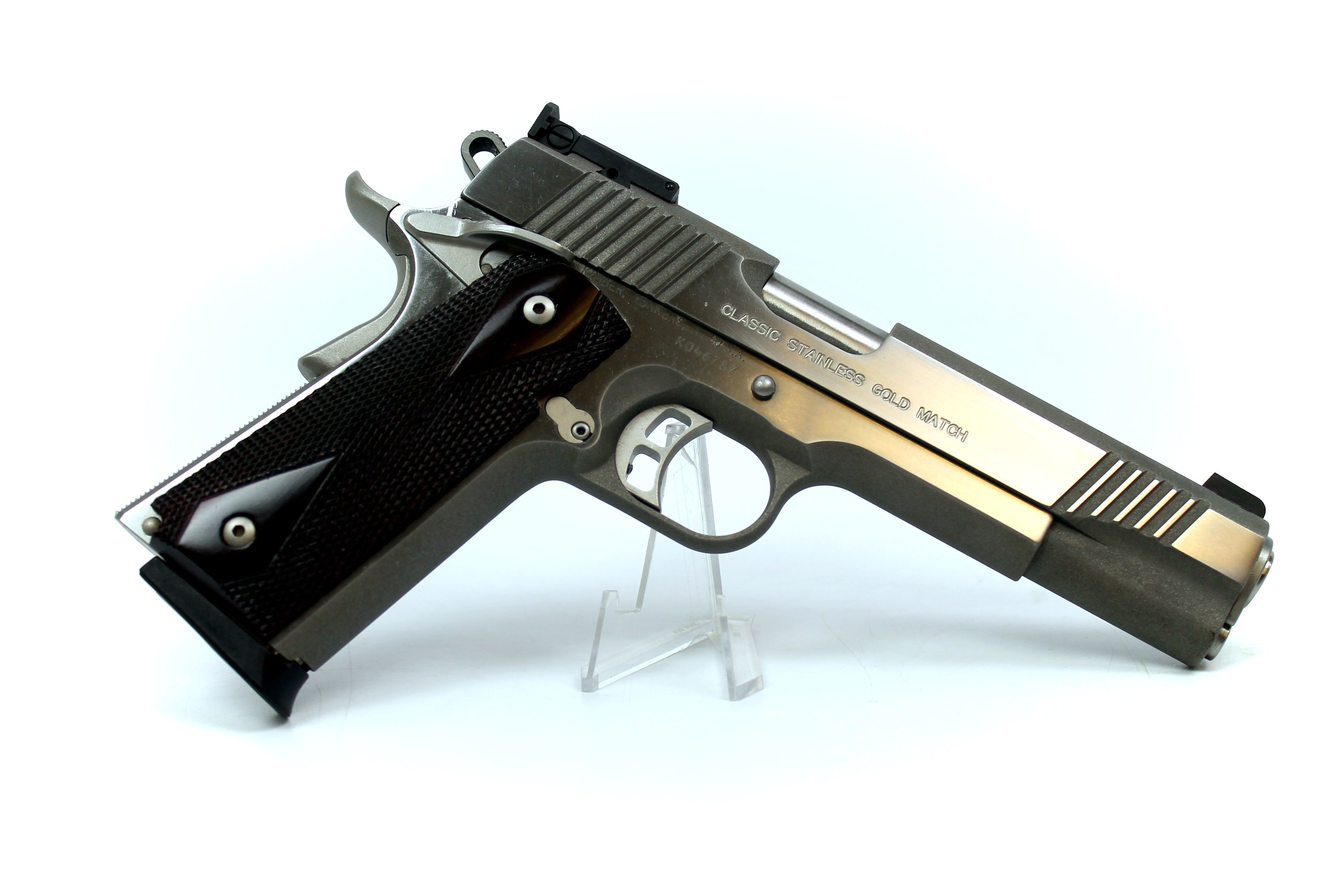 Kimber Classic Gold Match SST .45 ACP Single Action Semi-Automatic Pistol