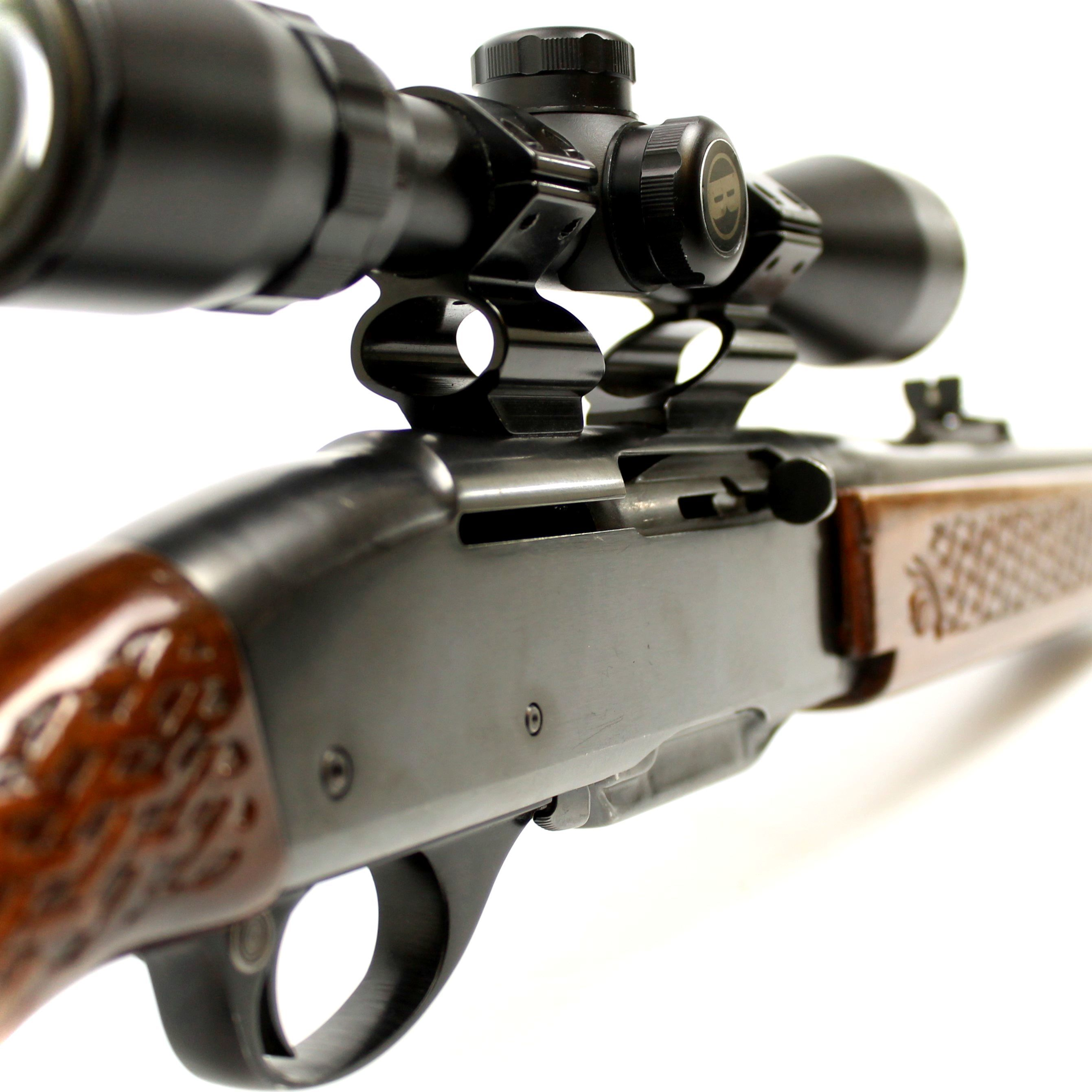 Remington 742 Woodsmaster .308 Basket Weave Rifle