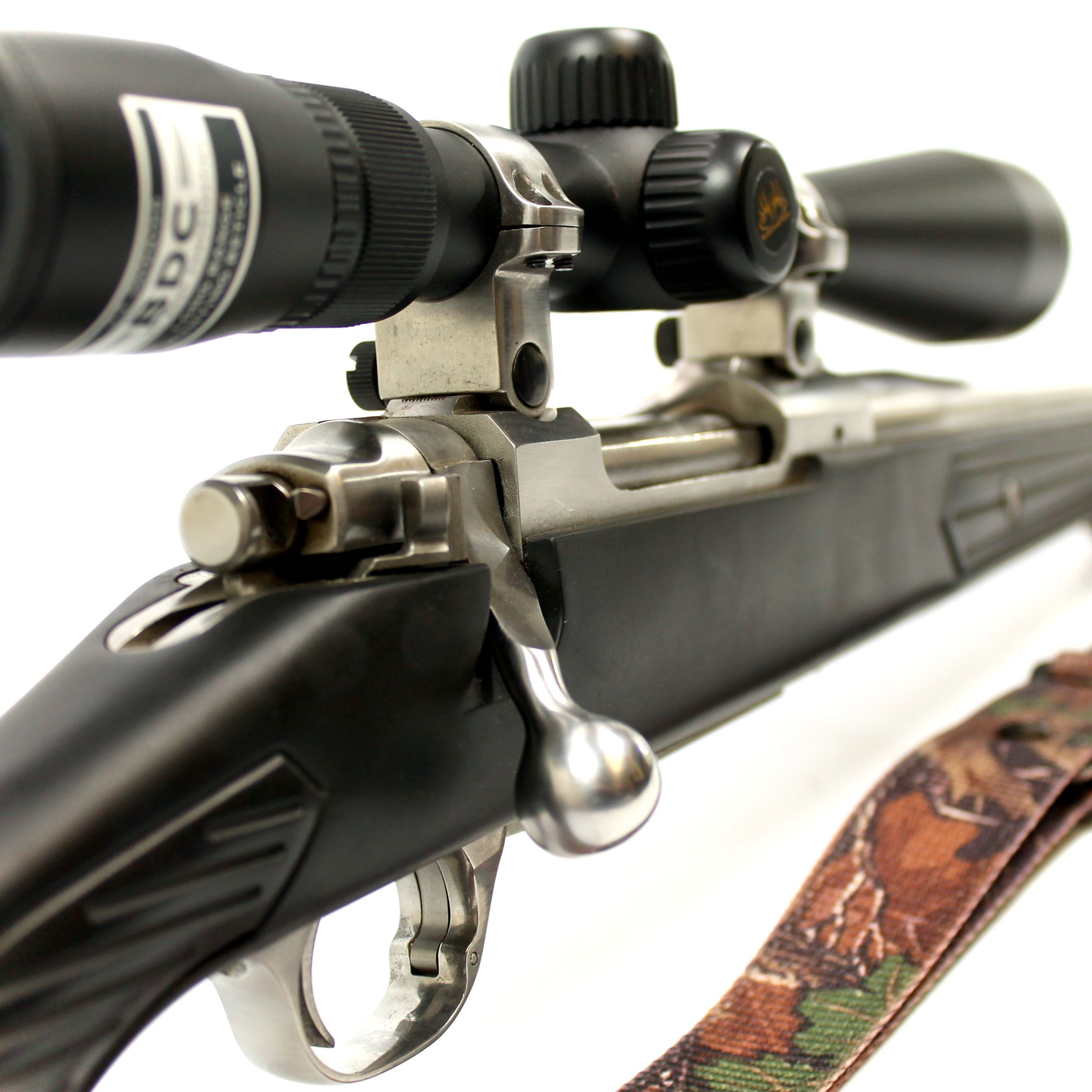 Ruger M77 Mark II Stainless/Skeleton .308 Rifle