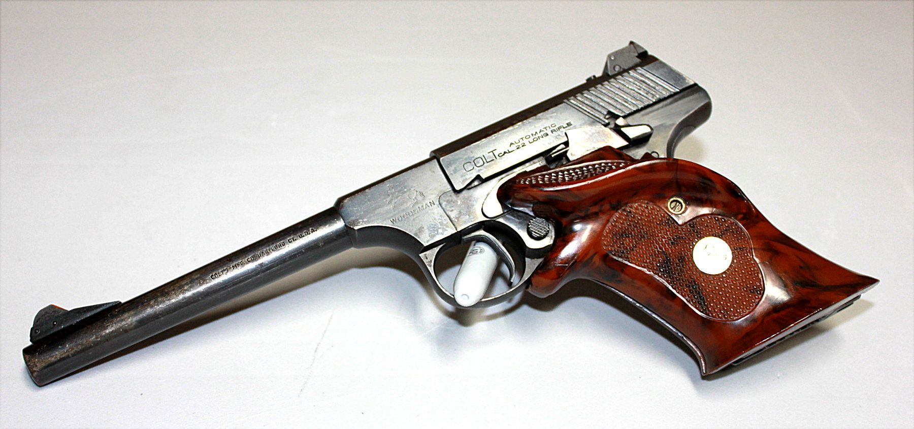 COLT WOODSMAN 22 LR SEMI-AUTO PISTOL - 1950 MODEL