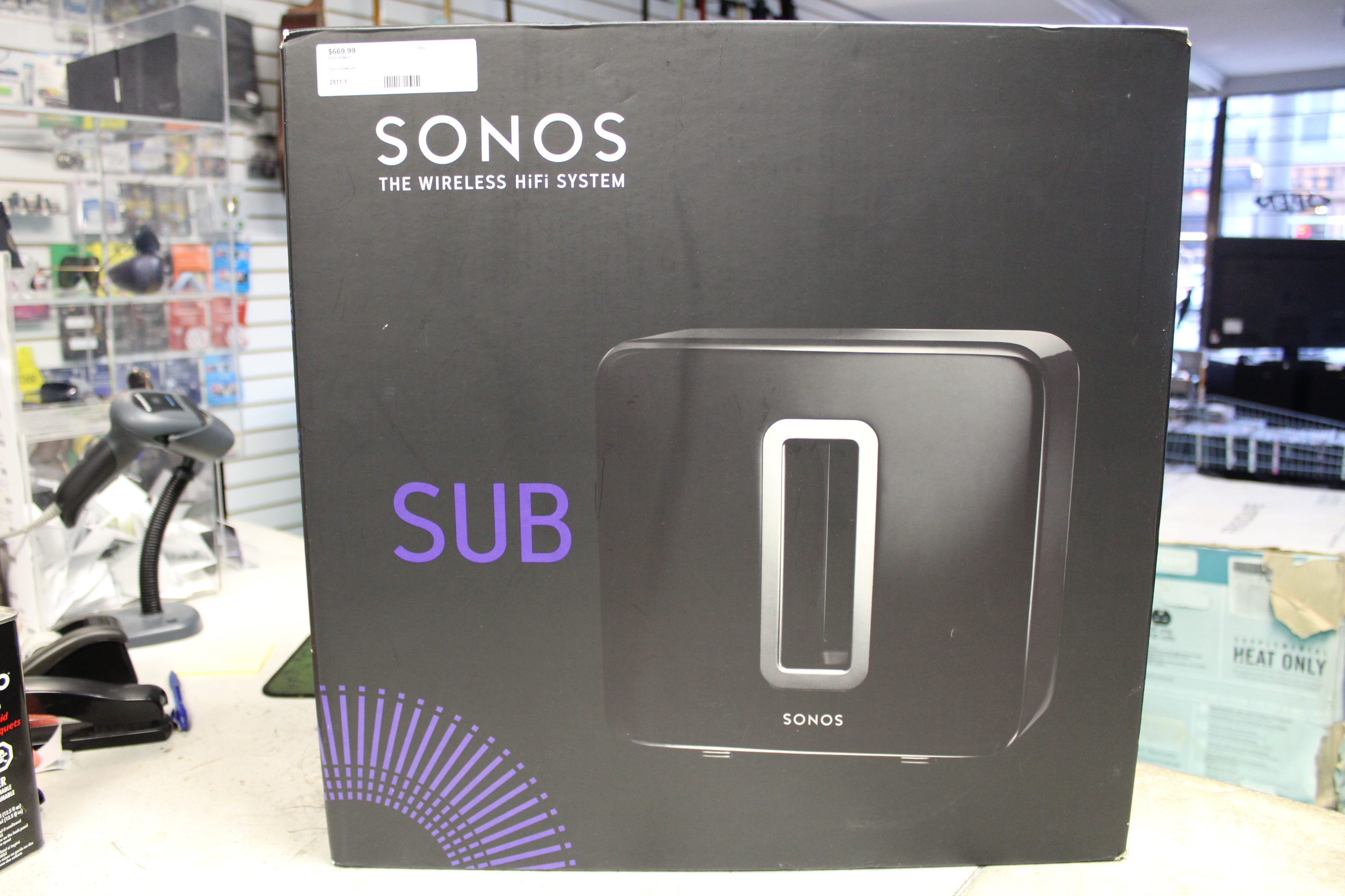 Sonos Subwoofer in original box!