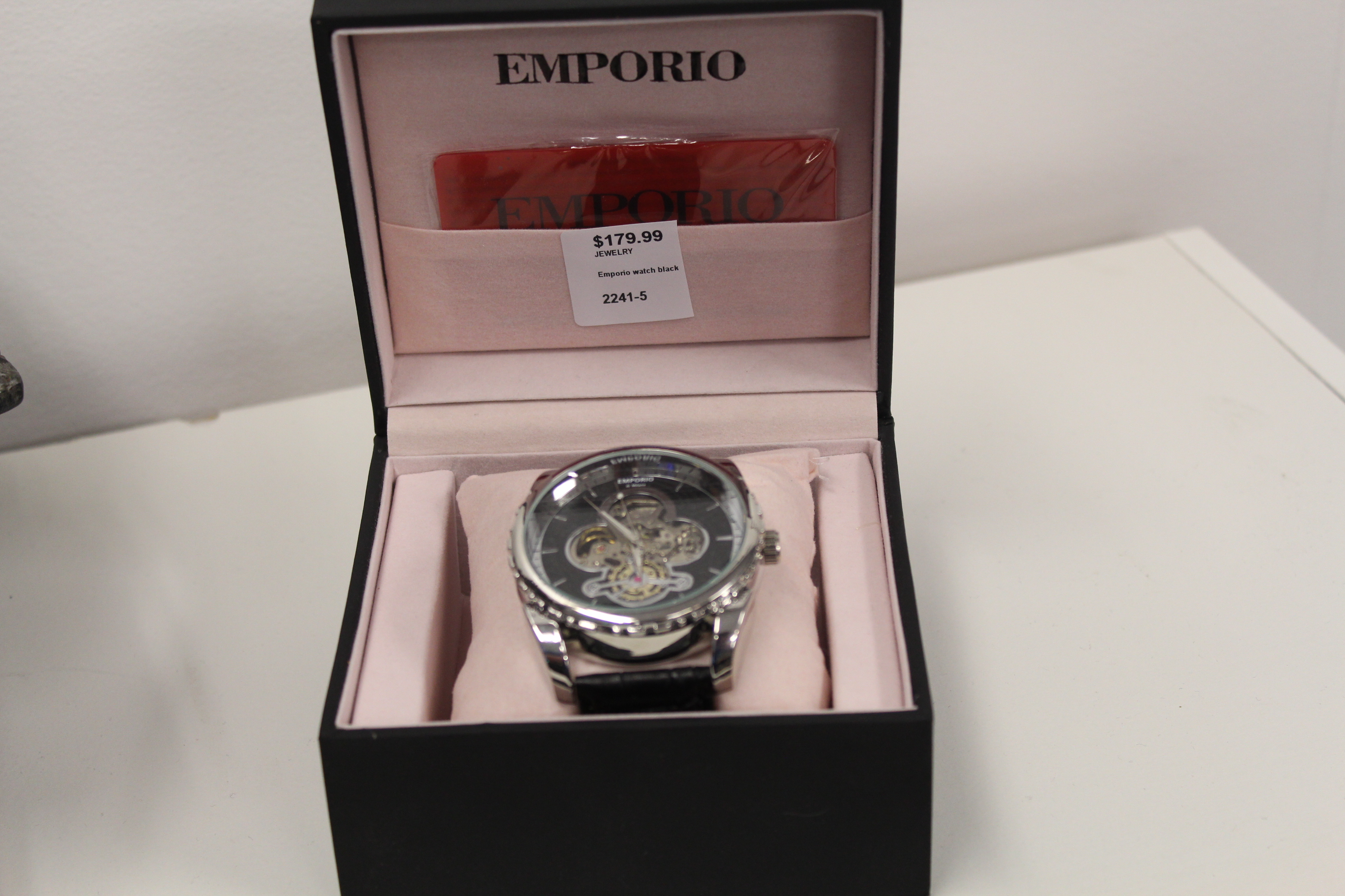 Emporio Men's Watch (Black)