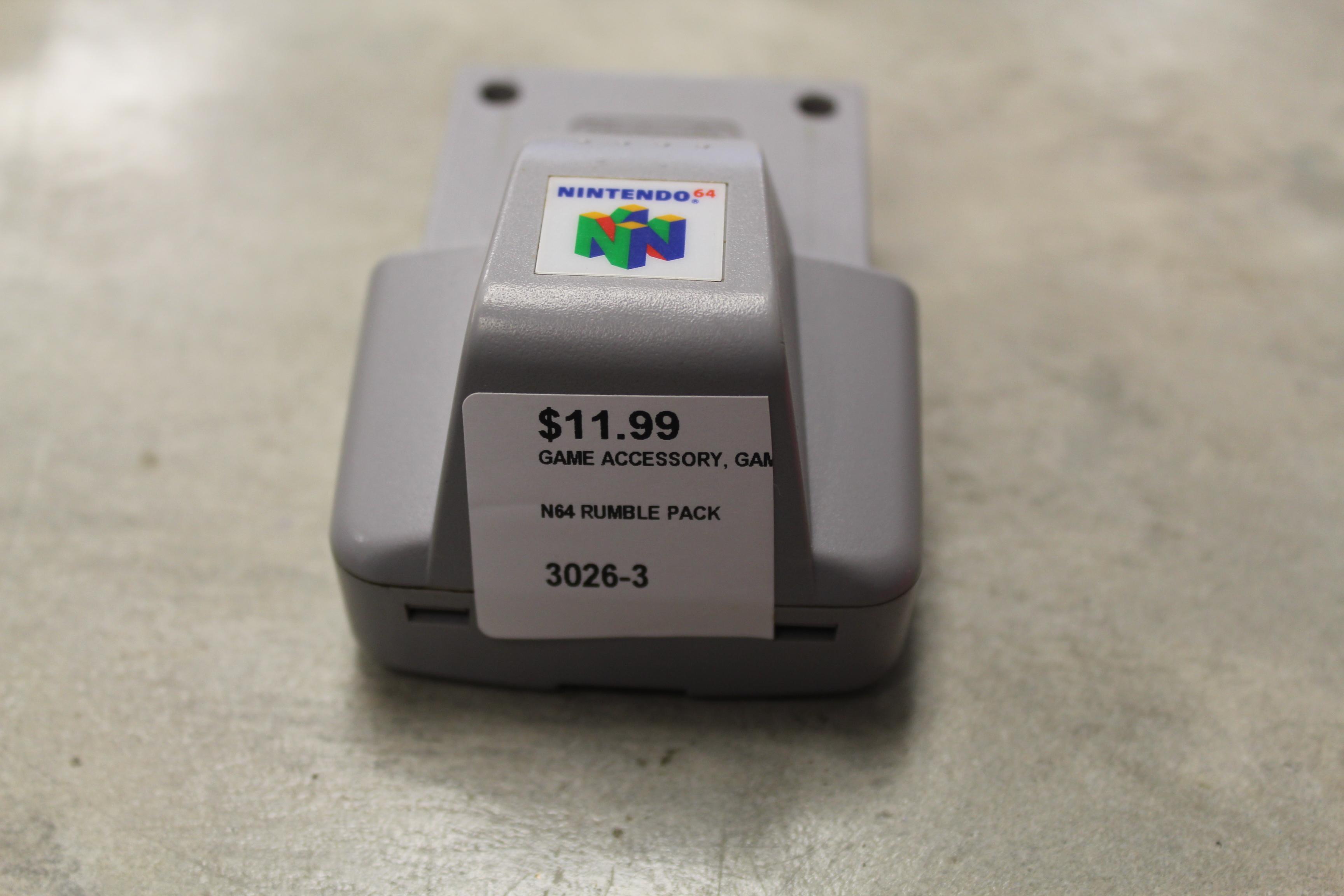 N64 Rumble Pack