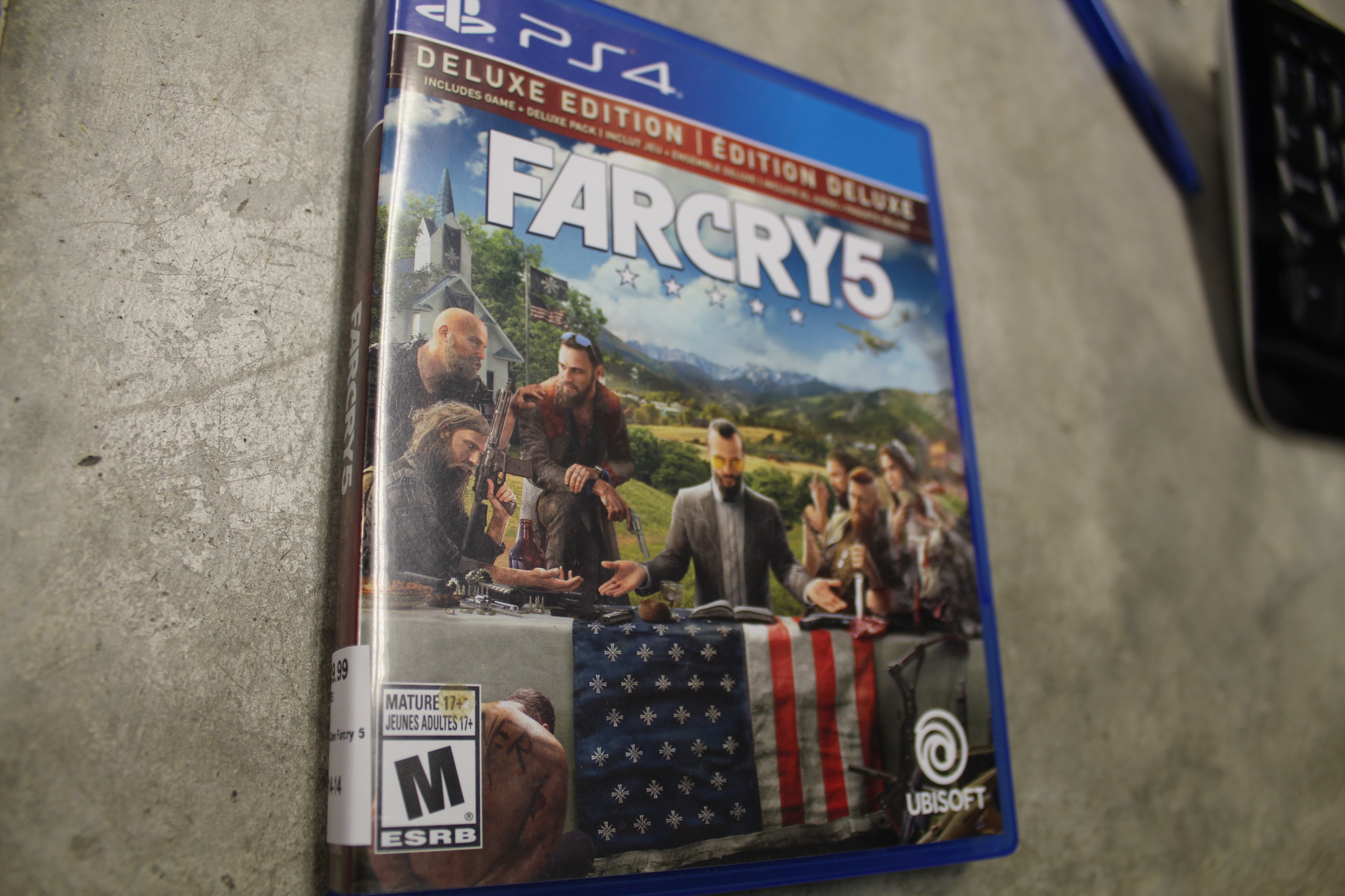 PS4 Game Farcry 5