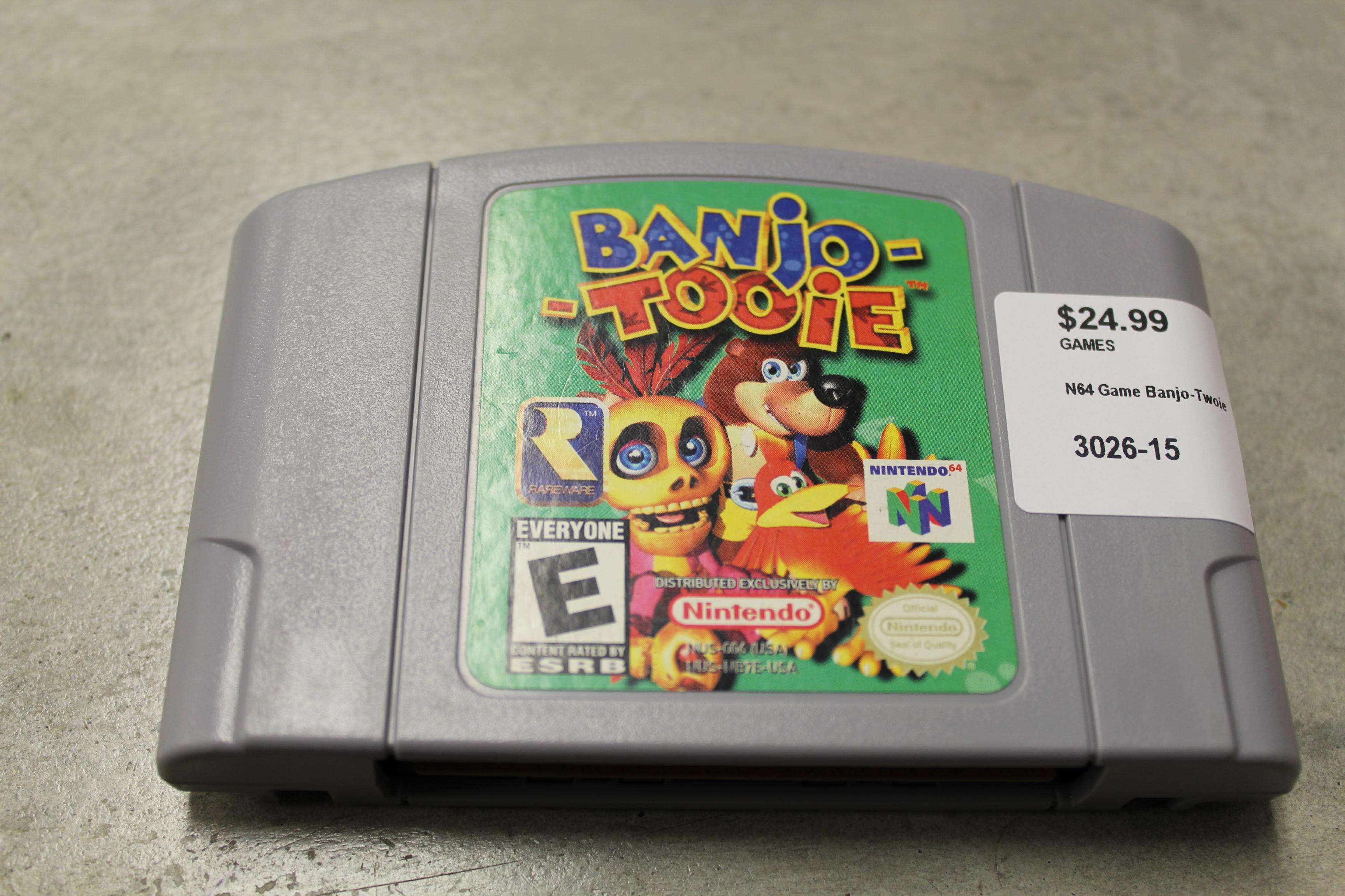 N64 Game Banjo-Tooie