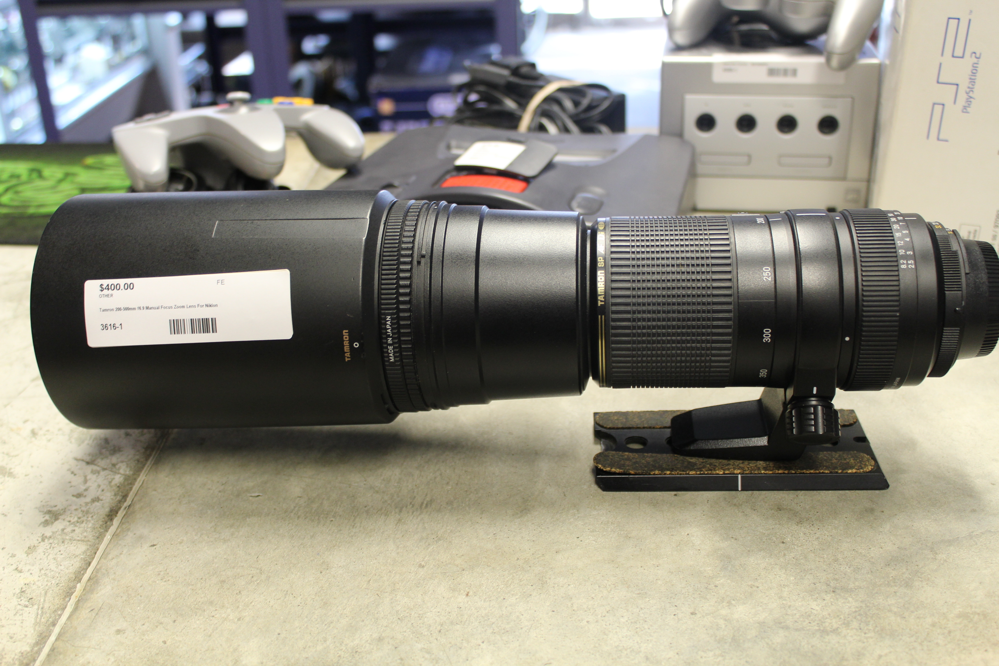 Tamron 200-500mm f6.9 Manual Focus Zoom Lens For Nikon