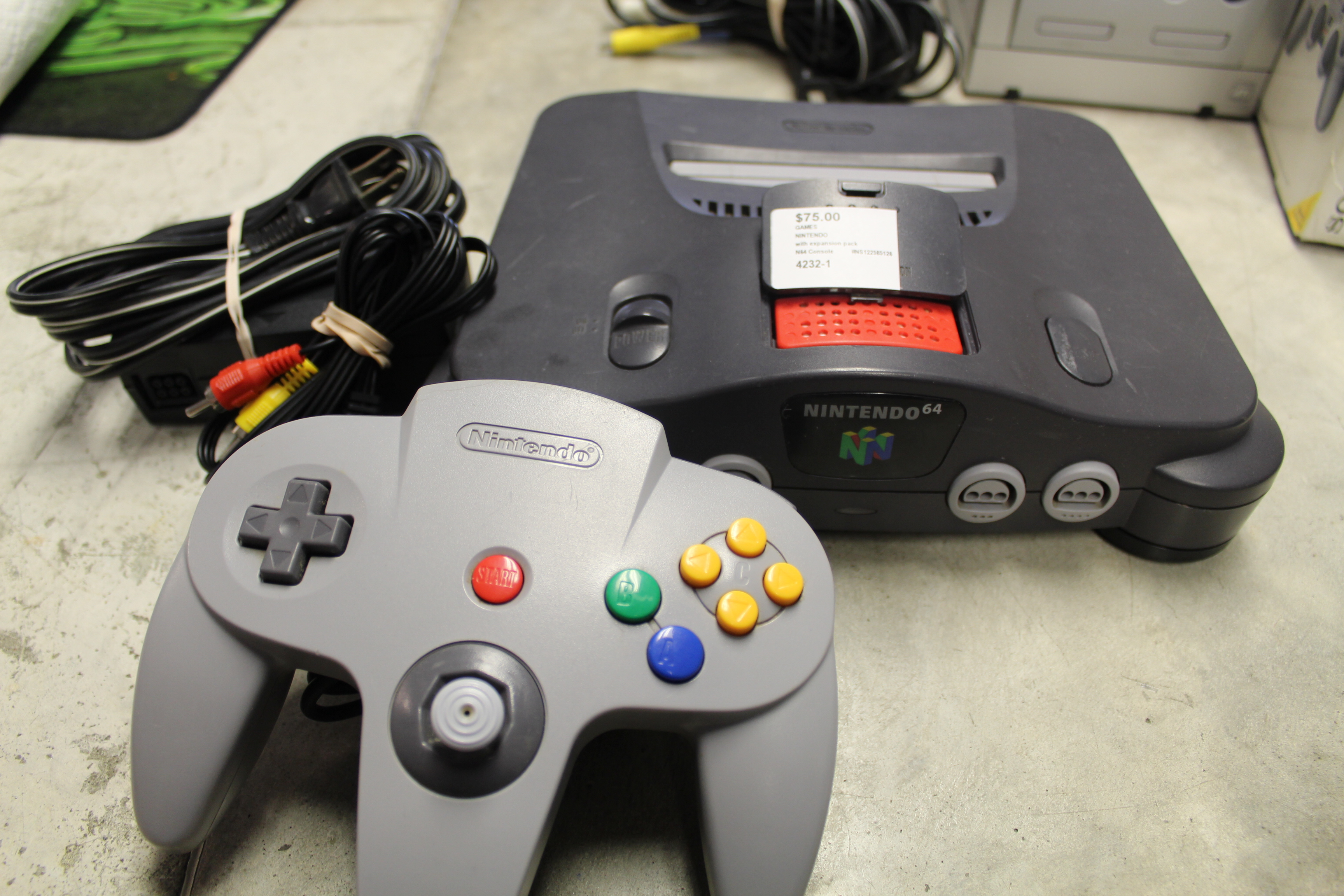 NINTENDO - N64 Console - GAMES