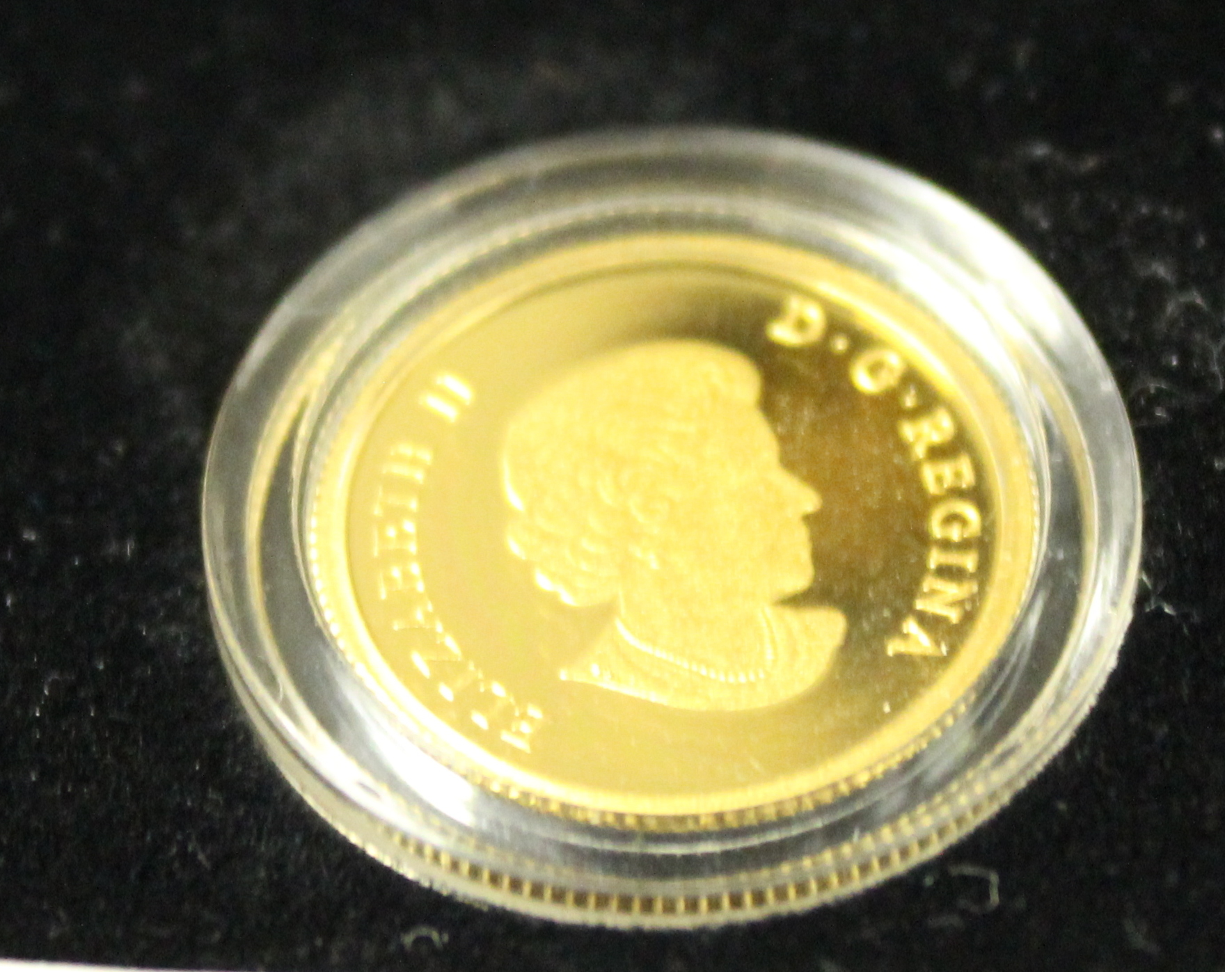 Royal Canadian mint 1/10 oz .999 gold coin