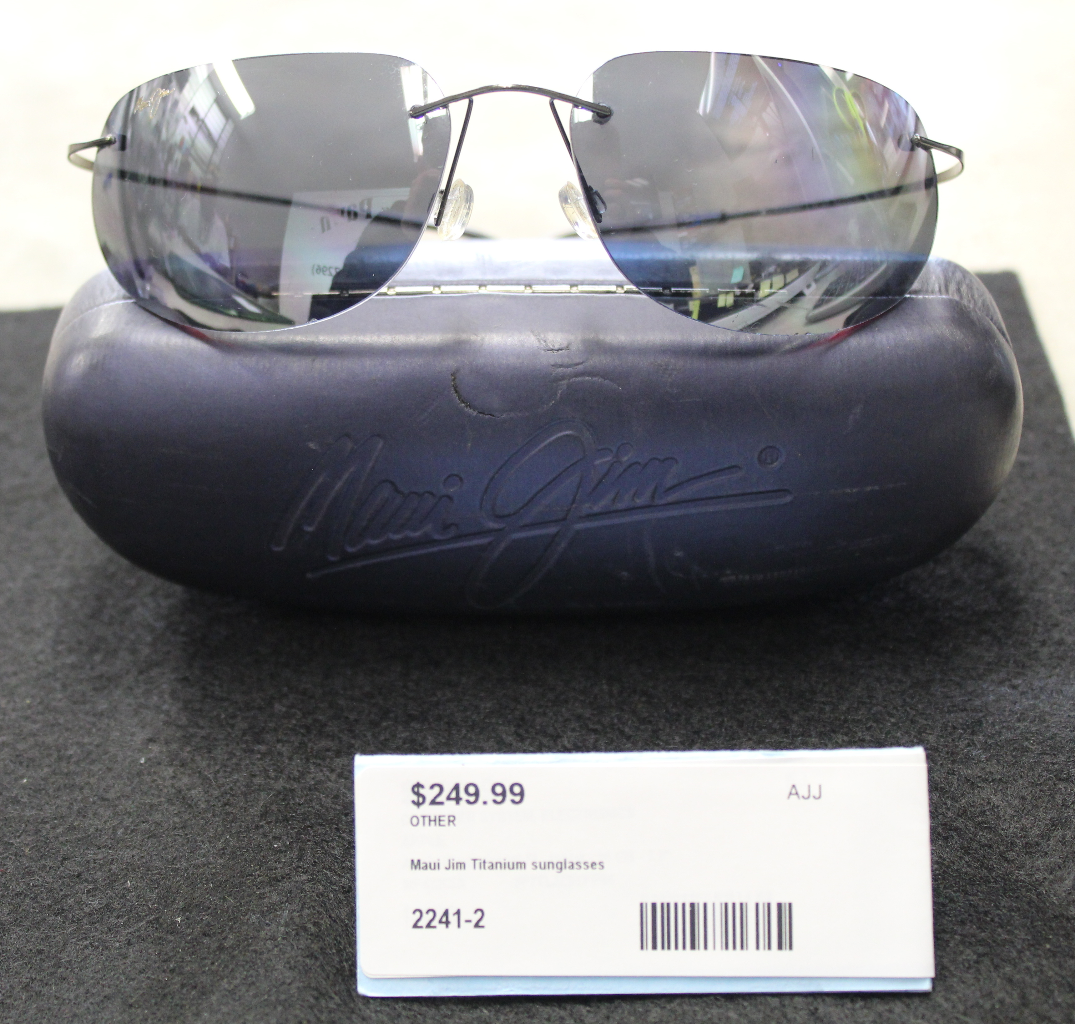 Maui Jim Titanium Sunglasses