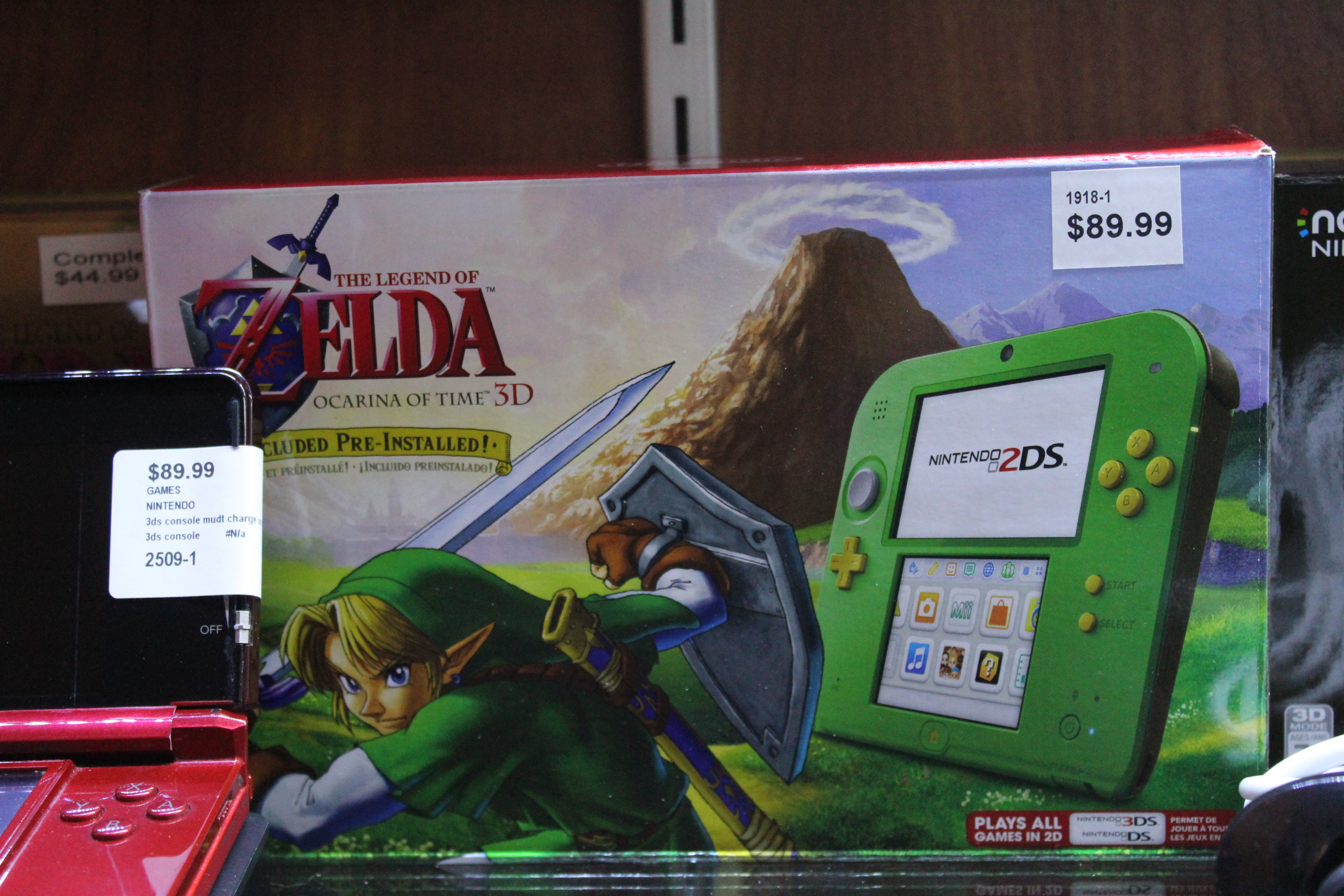 2DS Console Link Edition In Box