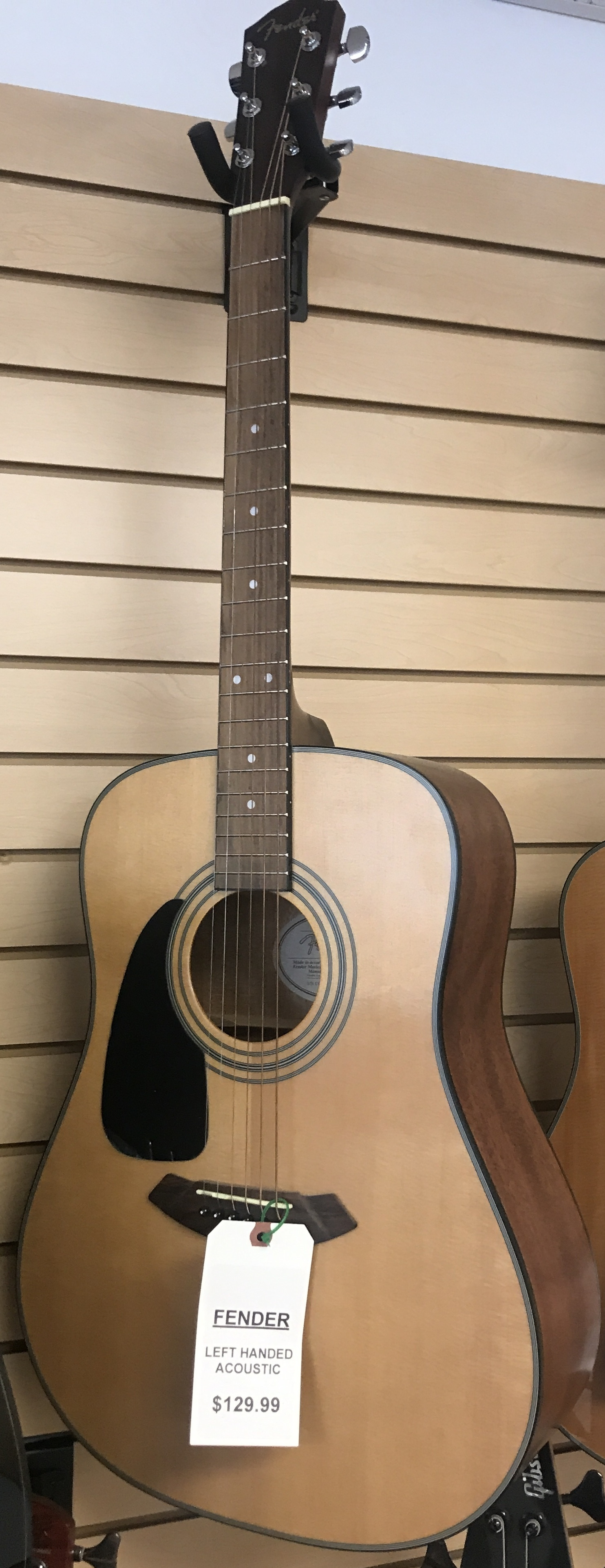 FENDER  CD-100LH NAT ACOUSTIC GUITAR