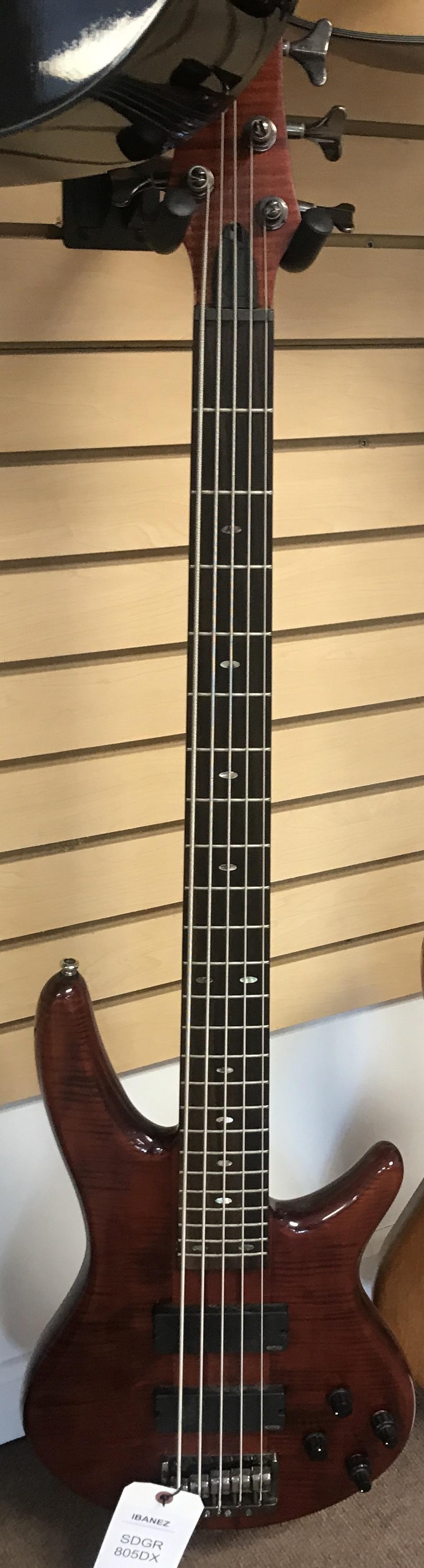 IBANEZ - SRT805DX - BASS GUITAR MUSICAL INSTRUMENT