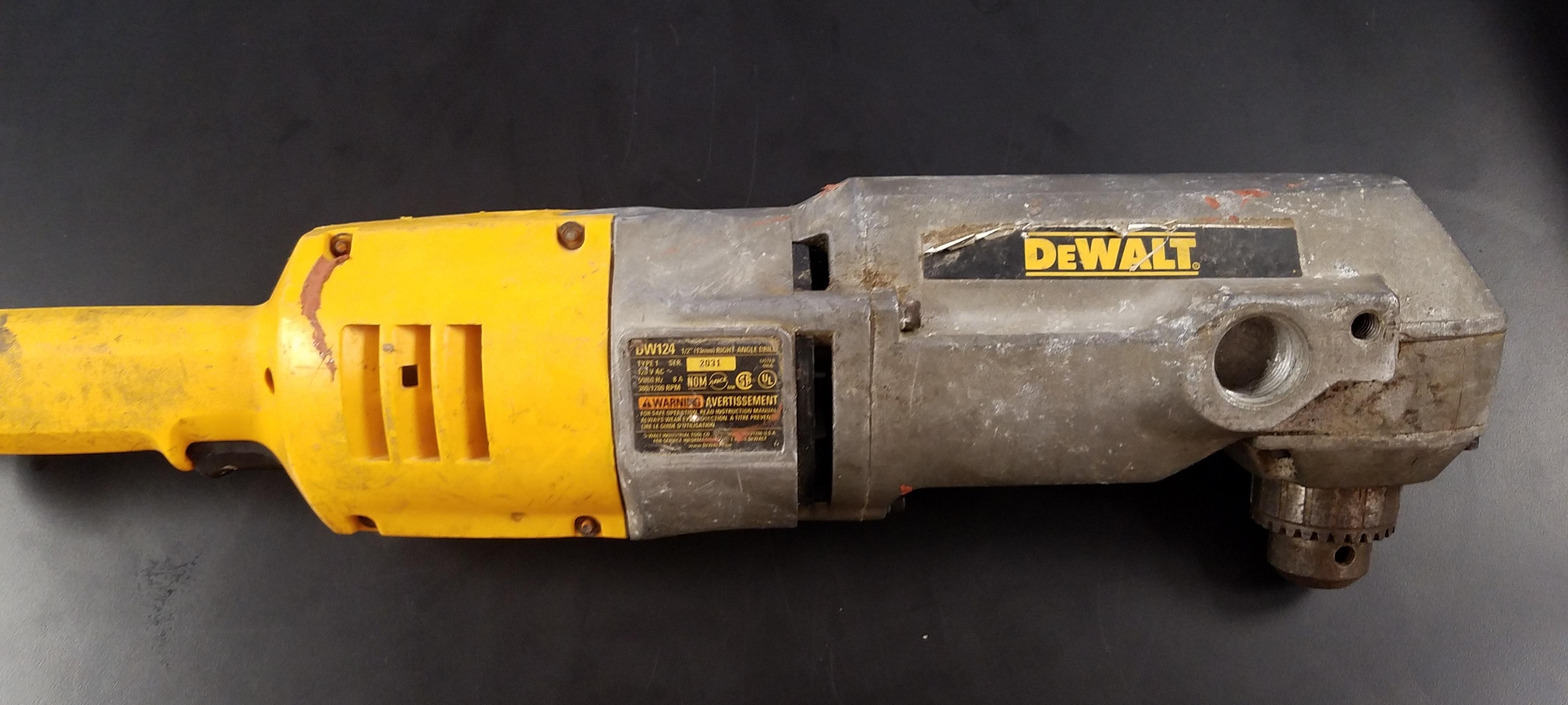 DEWALT DW124  DRILL TOOLS