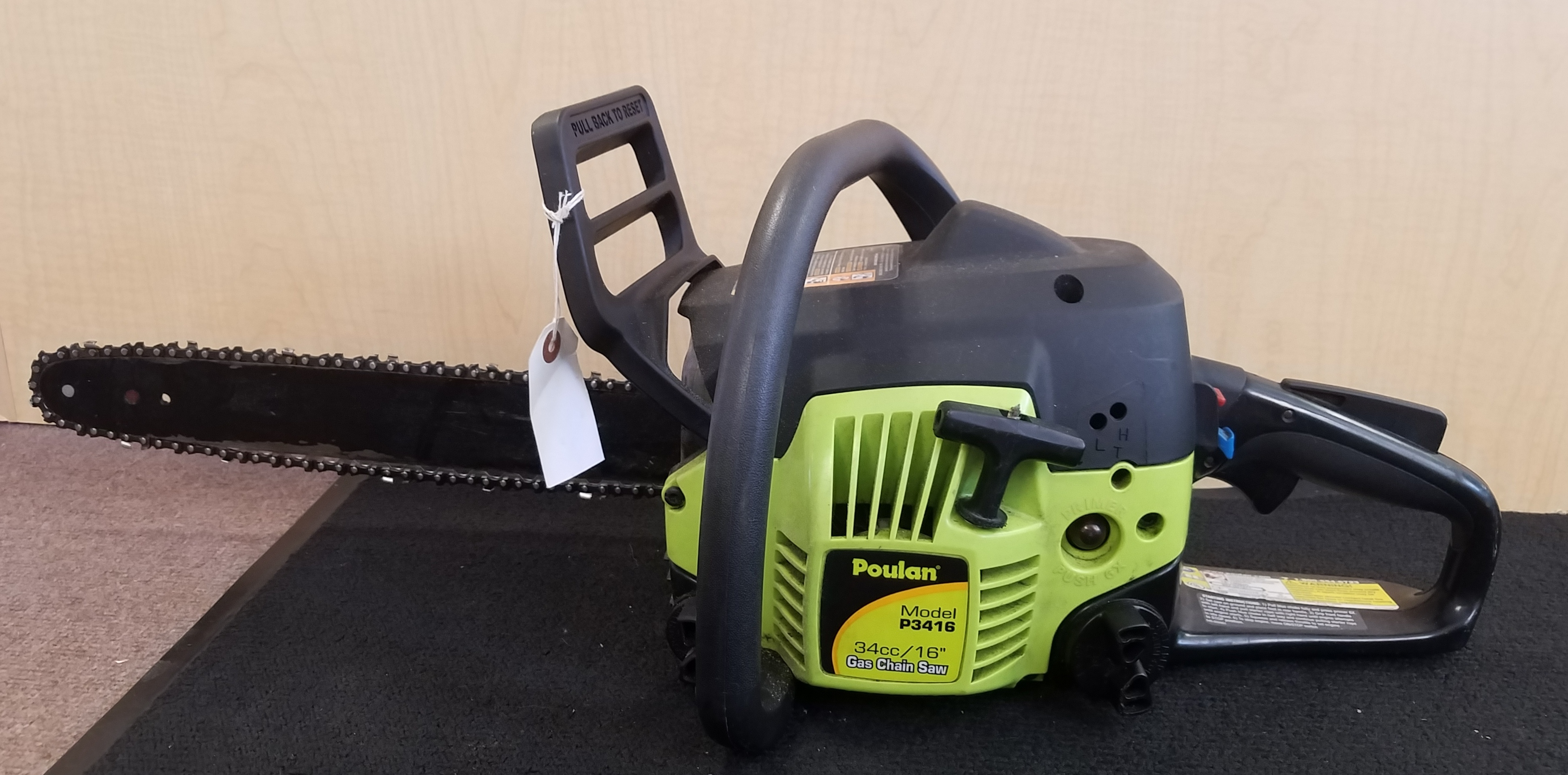 POULAN  P3416  CHAINSAW TOOLS-POWER