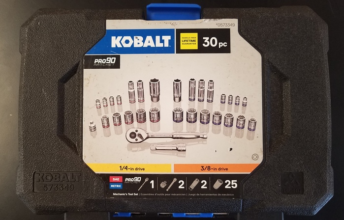 Kobalt 30 PIECE TOOL SET