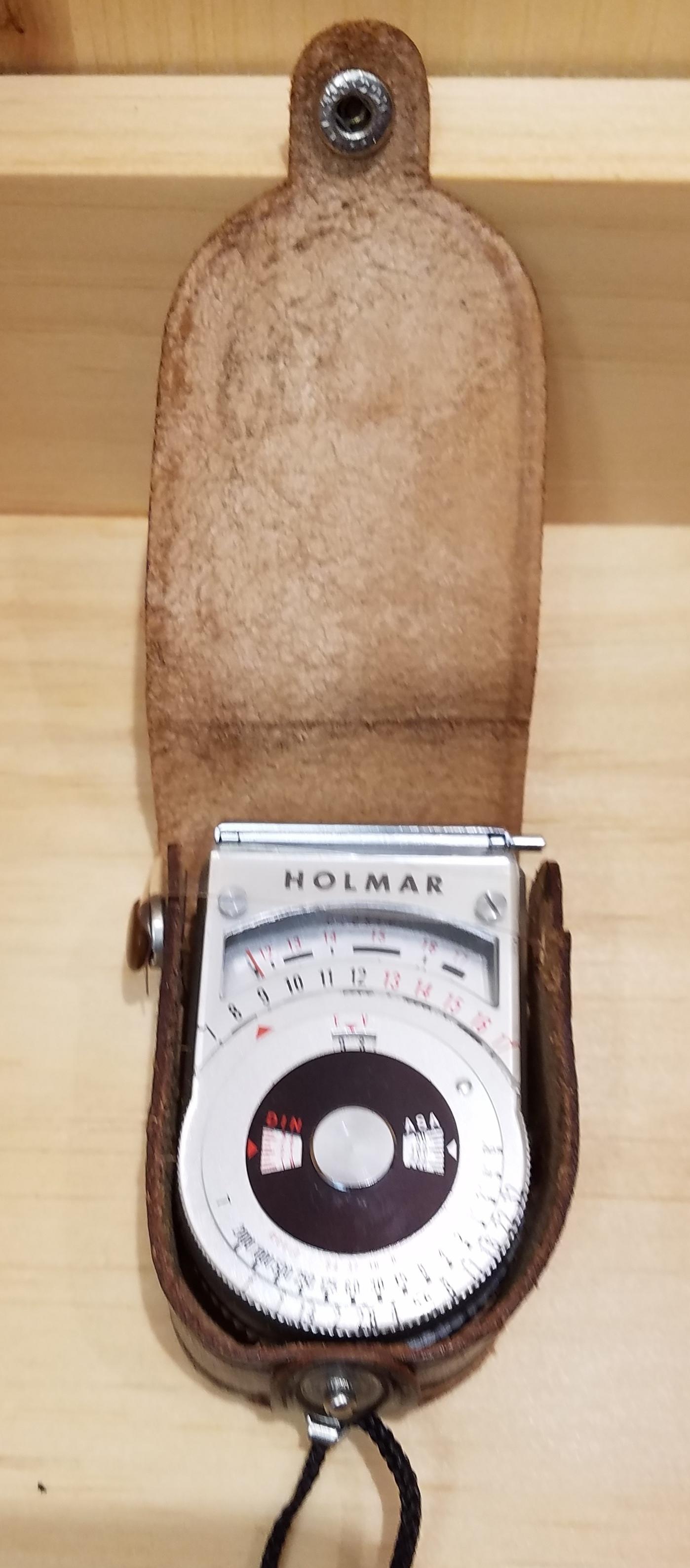 HOLMAR  CA 411  LIGHT METER CAMERA EQUIPMENT
