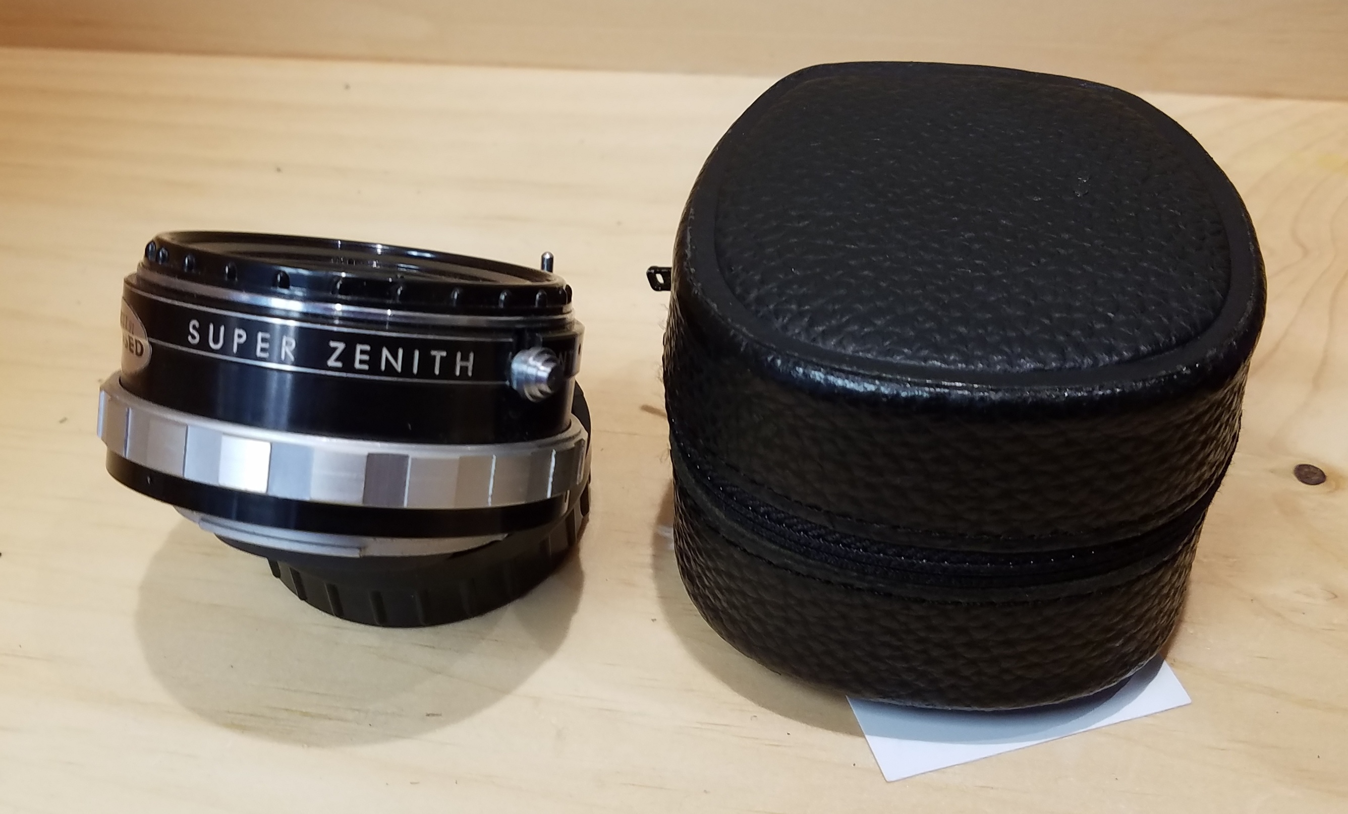NIKON  SUPER ZENITH  LENS CAMERA EQUIPMENT