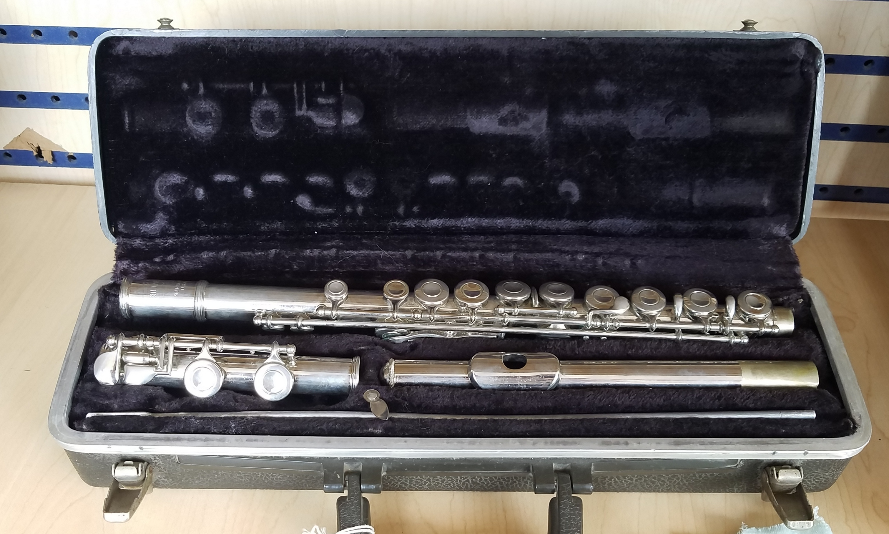 BUNDY  FLUTE MUSICAL INSTRUMENT