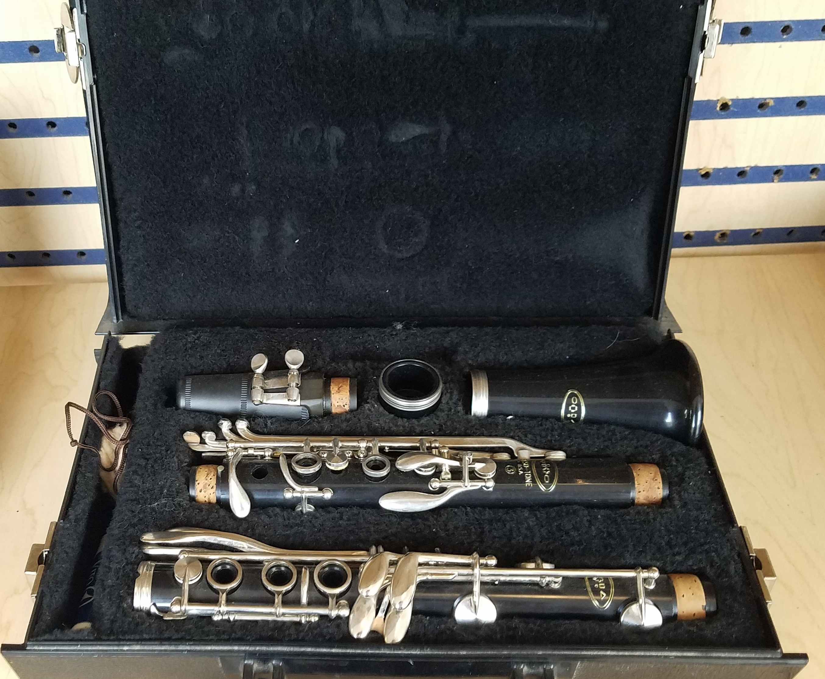 RESOTONE  3  CLARINET MUSICAL INSTRUMENT