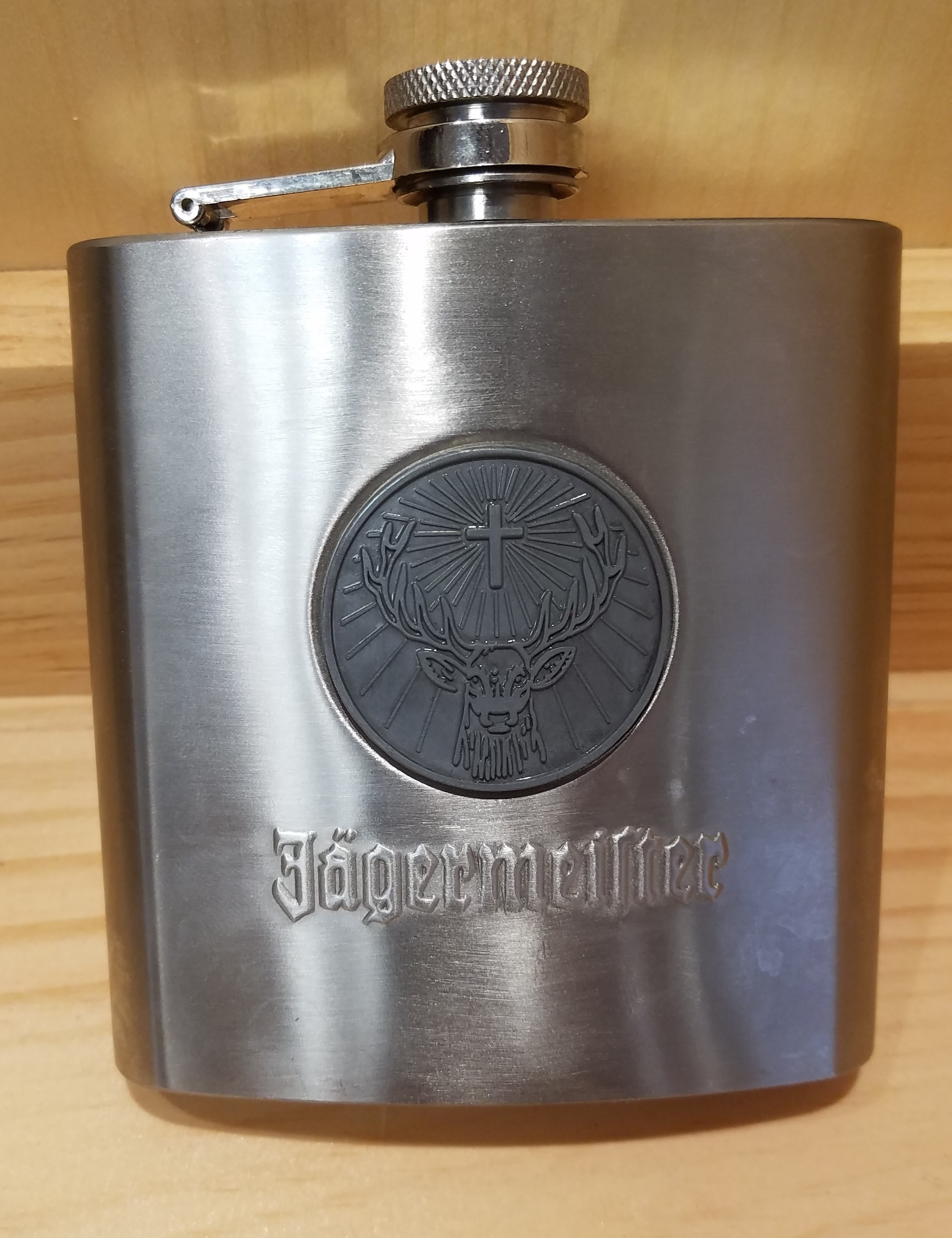 J. MARTUNNI JAGER FLASK  HOUSEHOLD