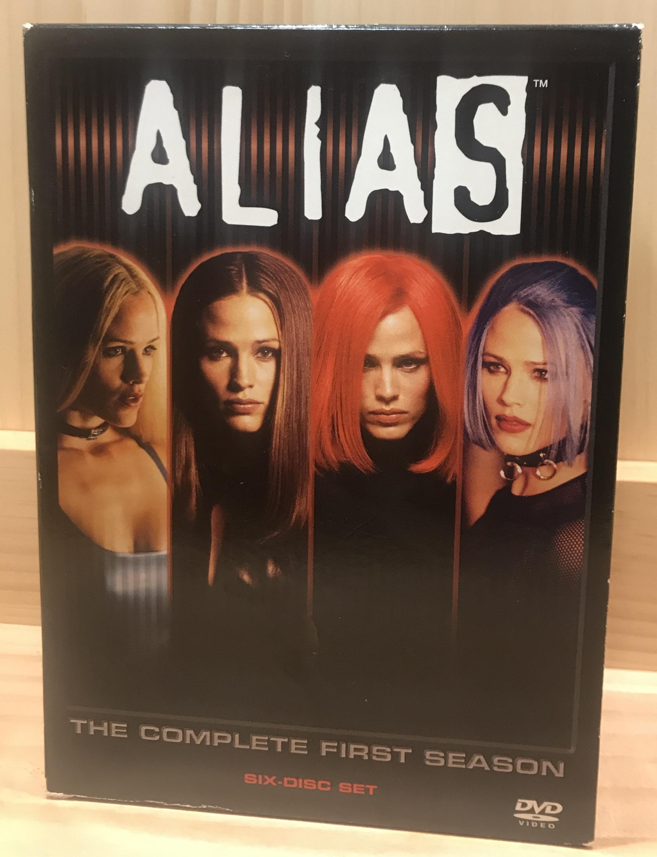 Alias Season 1 Box