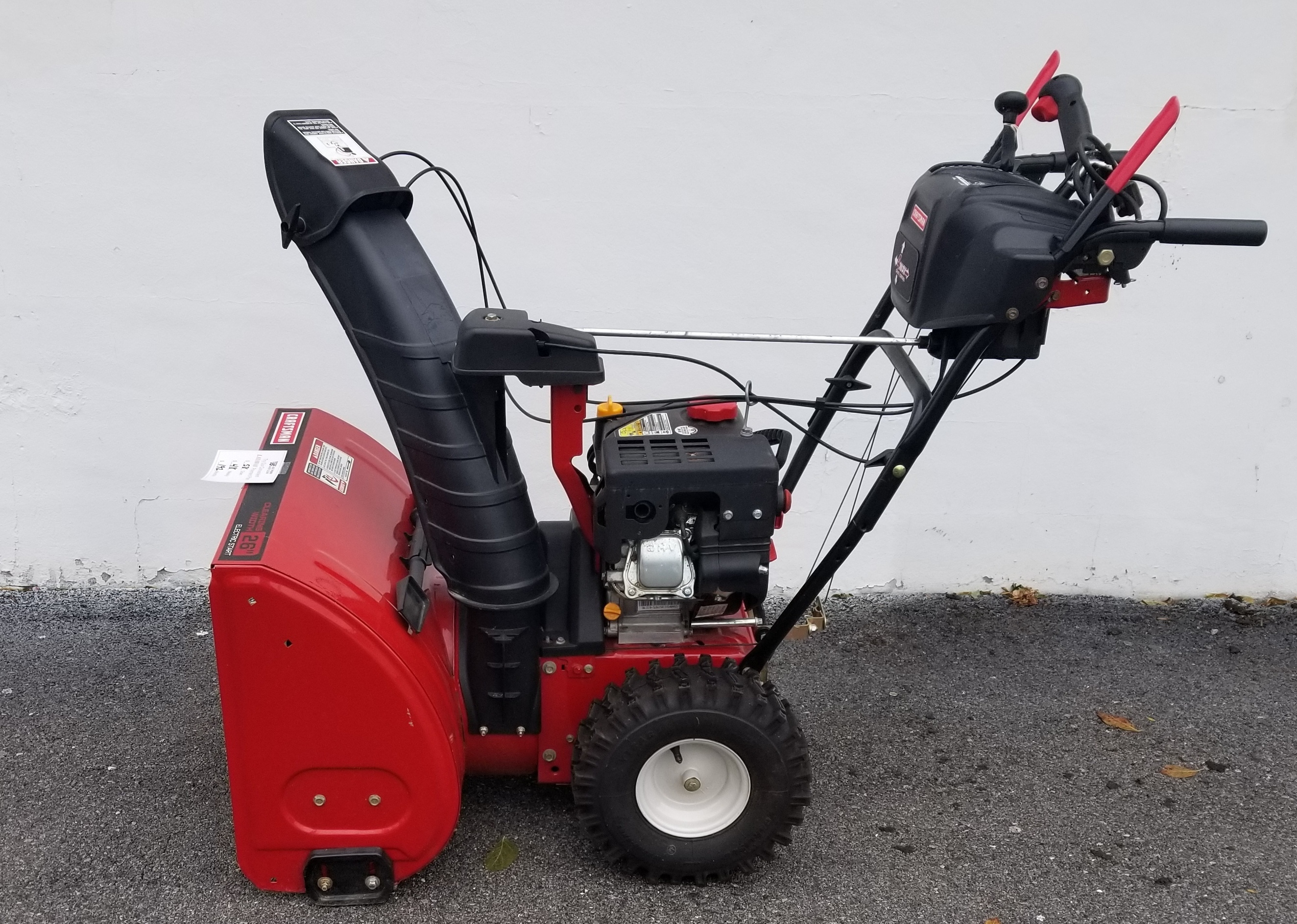 CRAFTSMAN  247889706  SNOWBLOWER
