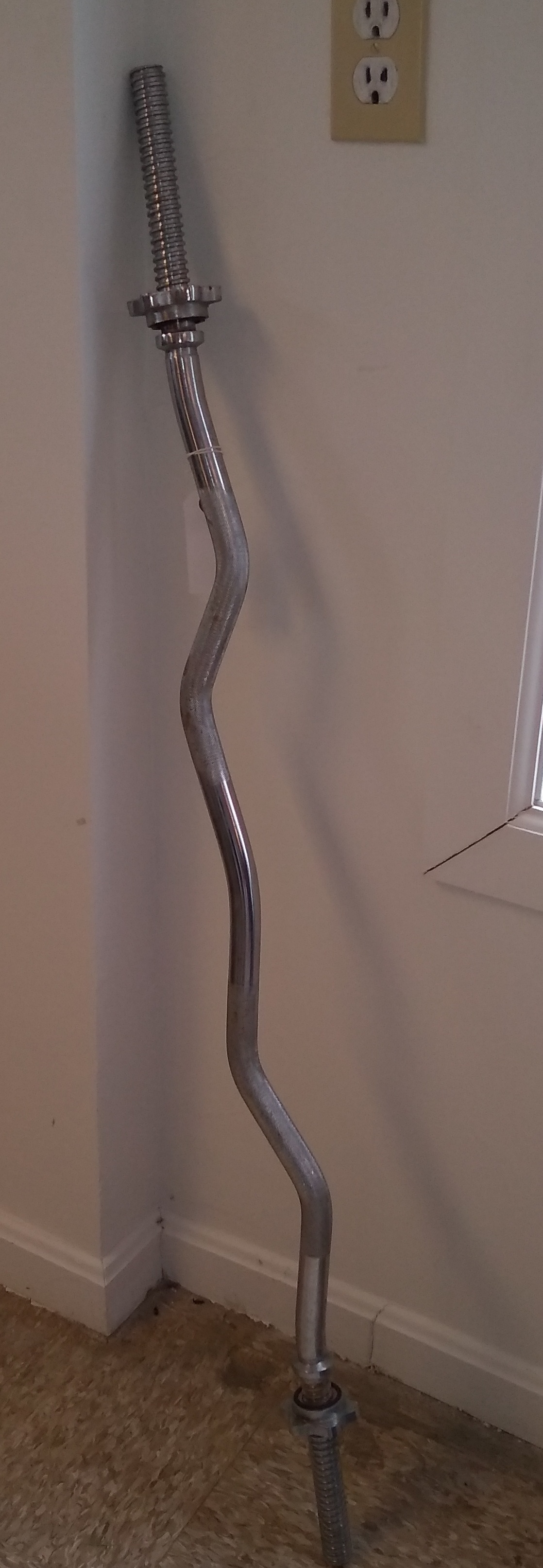CURVED WEIGHT BAR