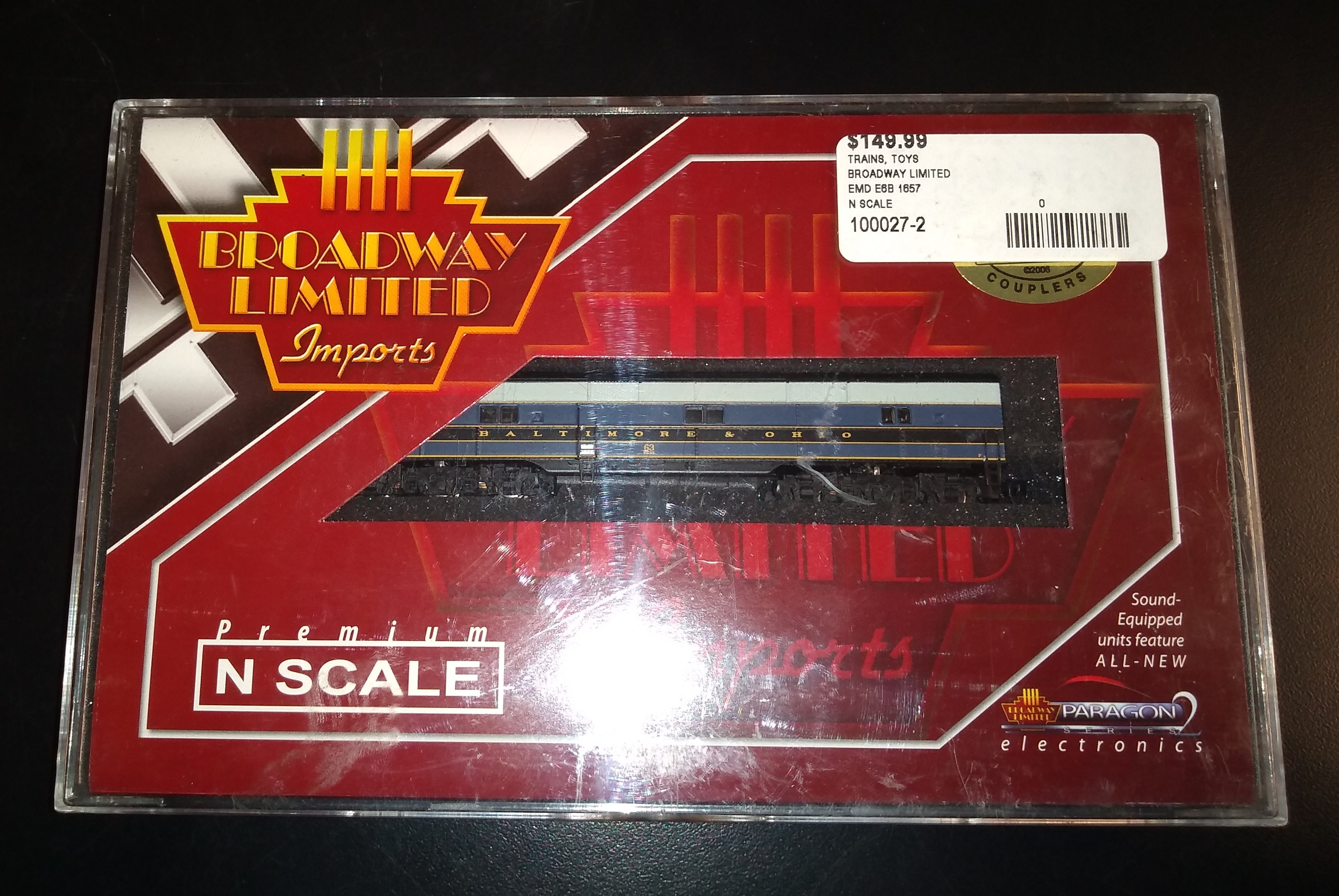 BROADWAY LIMITED N SCALE TRAINS