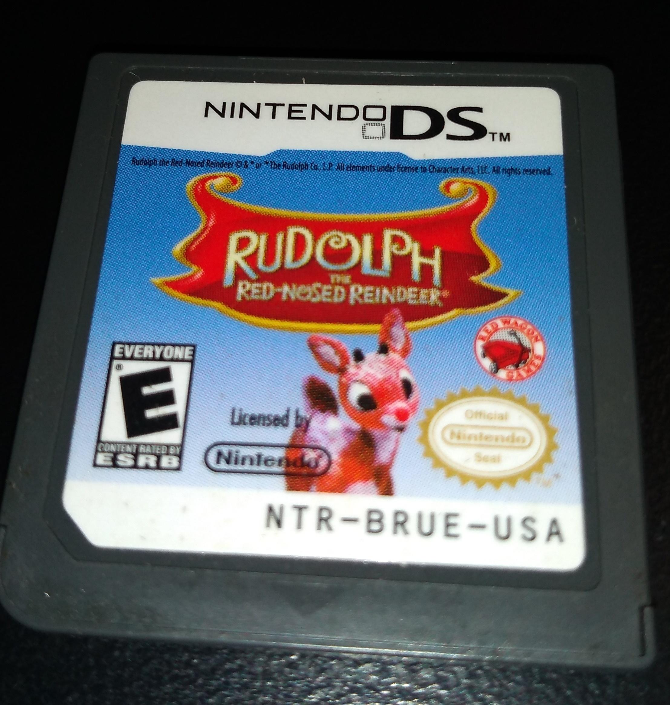 NINTENDO 3DS GAME RUDOLPH
