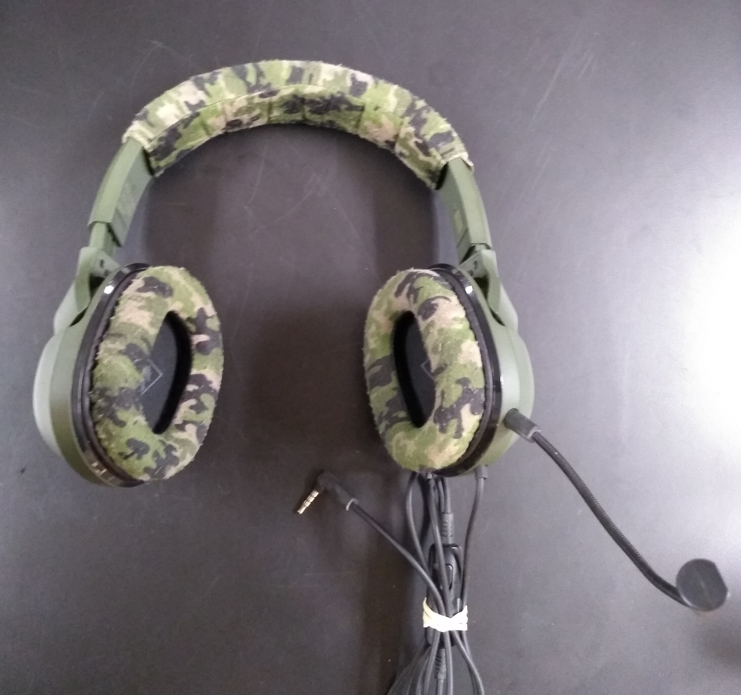 TURTLE BEACH GAMING HEADSET IN CAMO