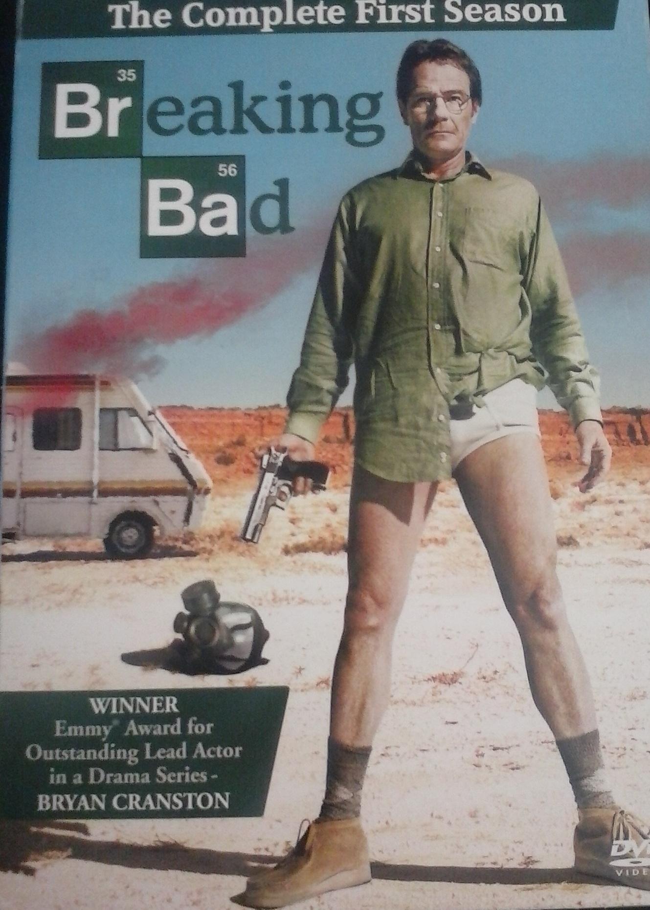 BREAKING BAD SEASON 1 FULL DVD BOX SET
