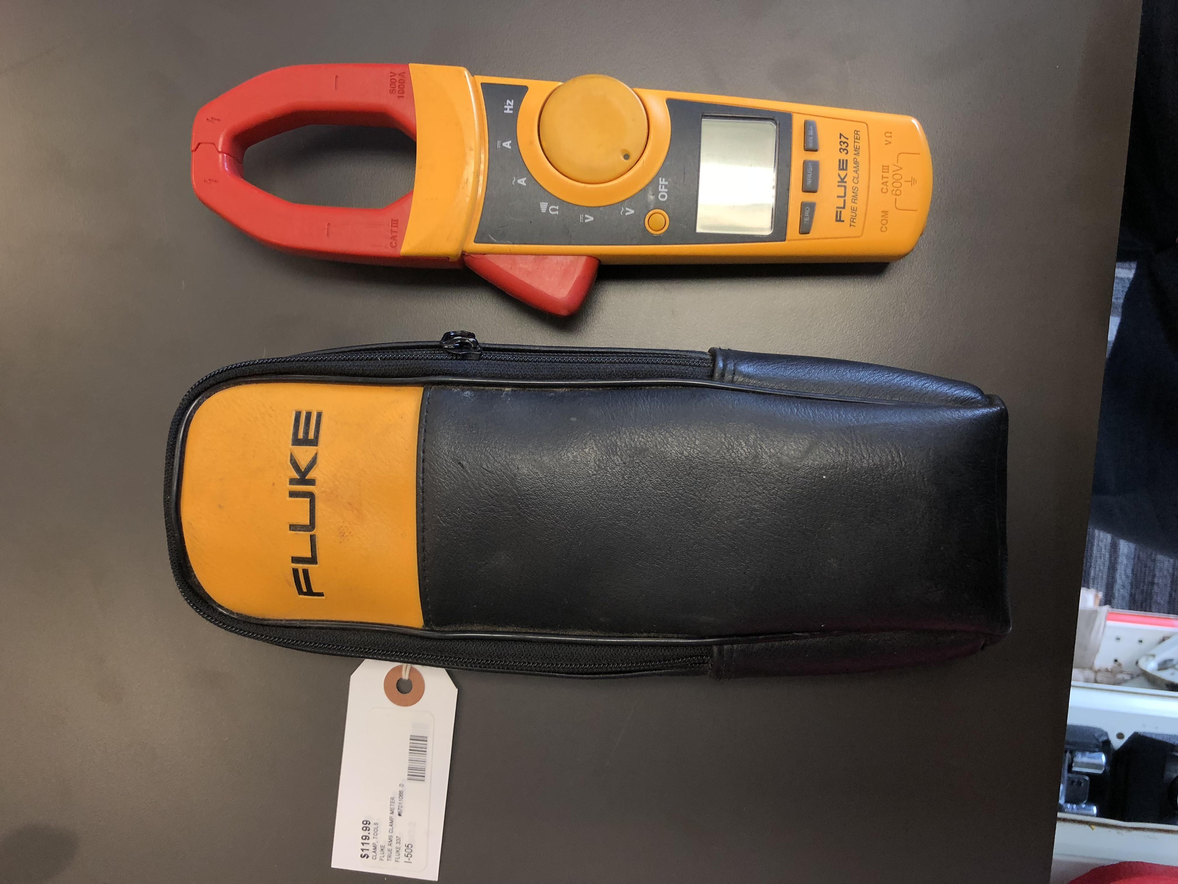 FLUKE CLAMP METER TESTER