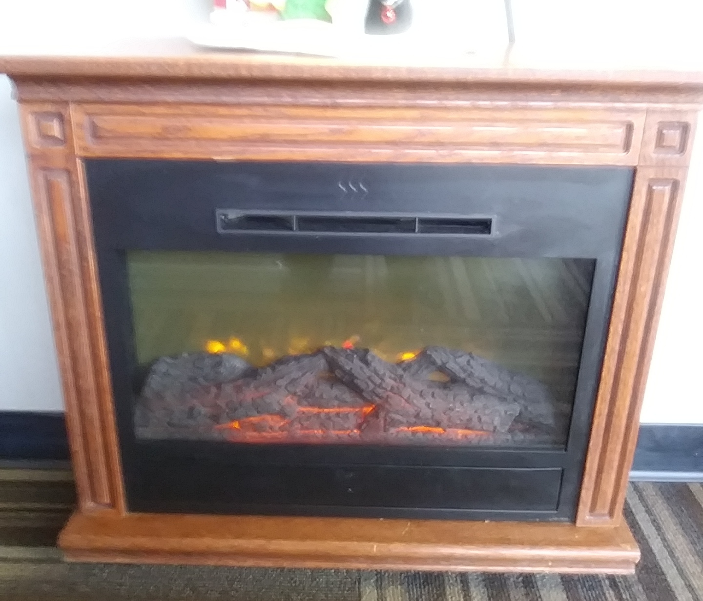 COMMERCIAL FIREPLACE/HEATER
