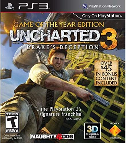 Drakes Deception Uncharted PS3