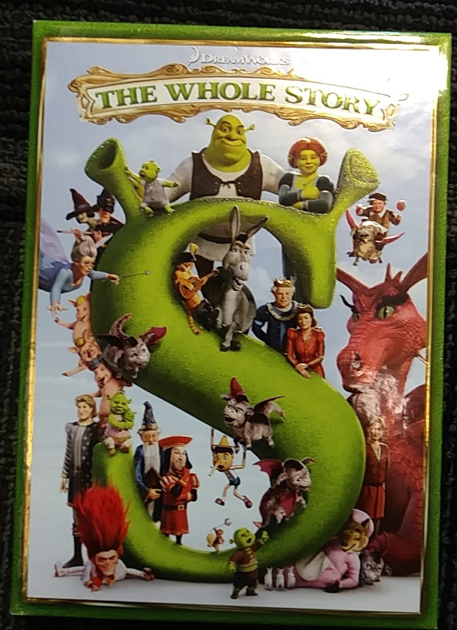 SHREK: THE WHOLE STORY DVD COLLECTION