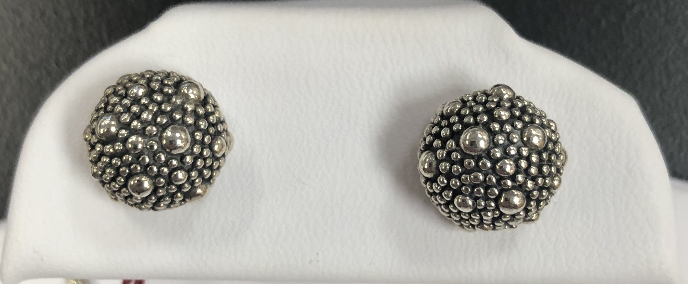 Stearling Silver 3.50DWT Woman's Set of Balls