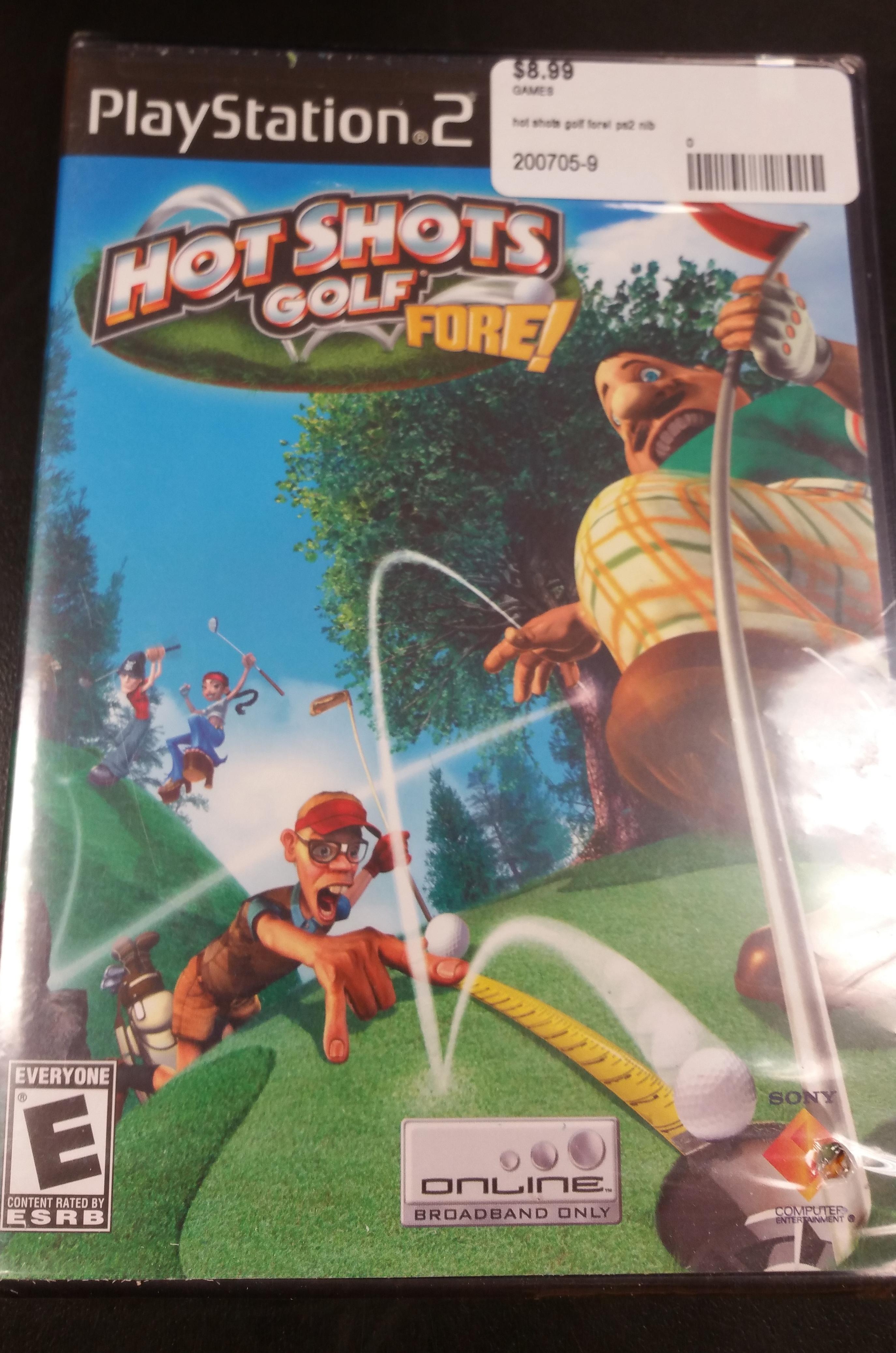 HOT SHOTS GOLF PS2