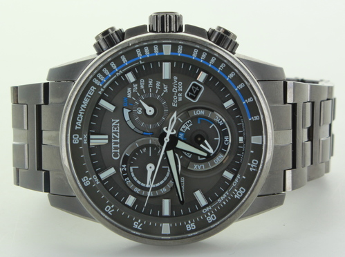 Citizen Eco Drive E650 S111145 Stainless Steel Chronograph Wrist