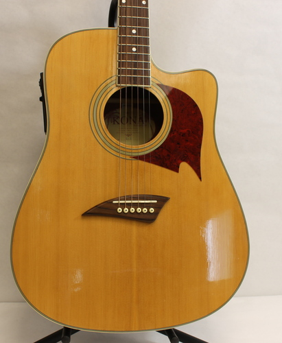 kona k1e 6 string dreadnought cutaway acoustic electric guitar 102010100647 ebay. Black Bedroom Furniture Sets. Home Design Ideas