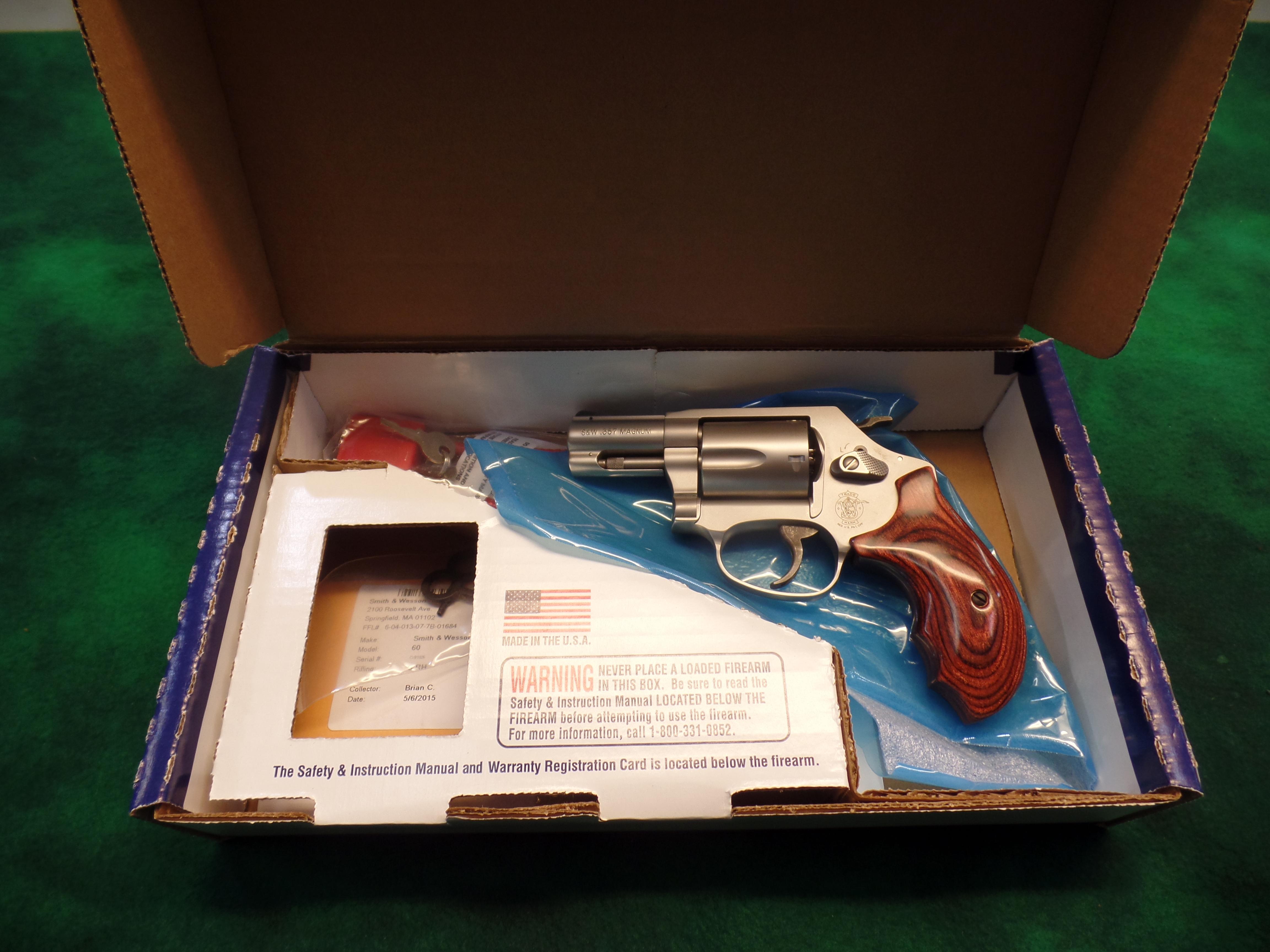 NIB S&W model 60-14 Ladysmith .357 Mag-img-0