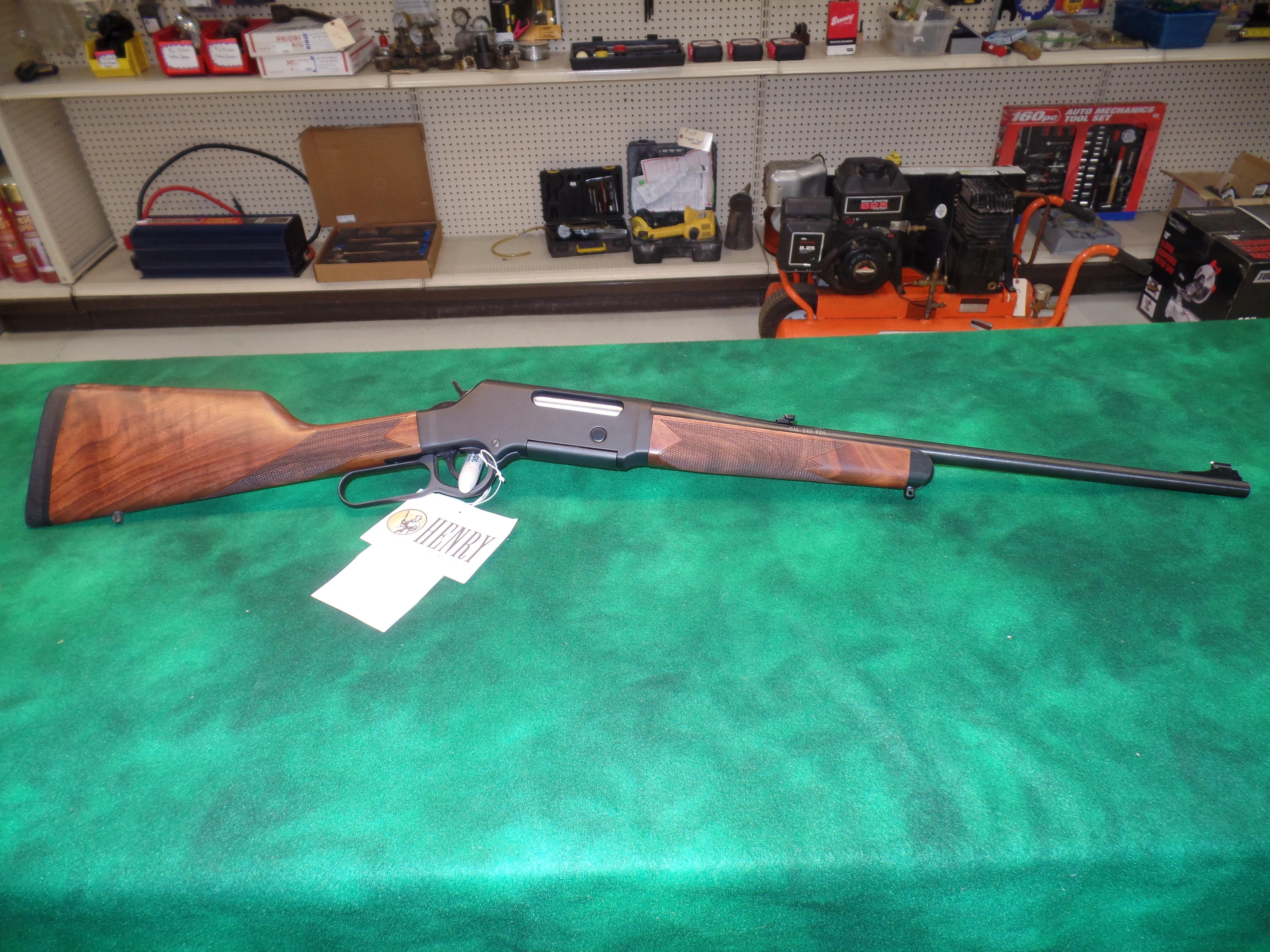 """NIB Henry H014S """"Long Ranger"""" .243 Win-img-1"""
