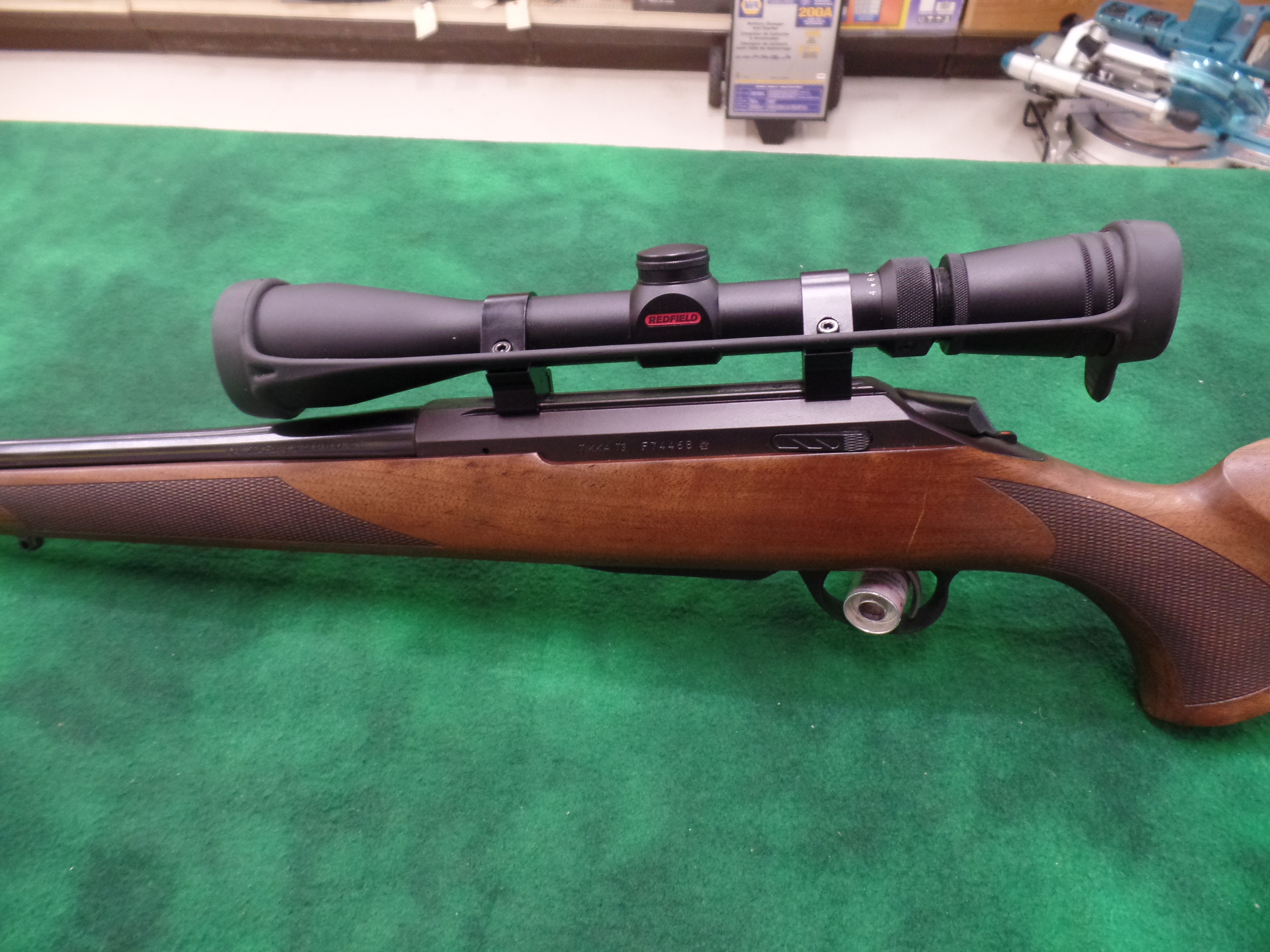 Used Tikka T3 204 Ruger W/Scope-img-6