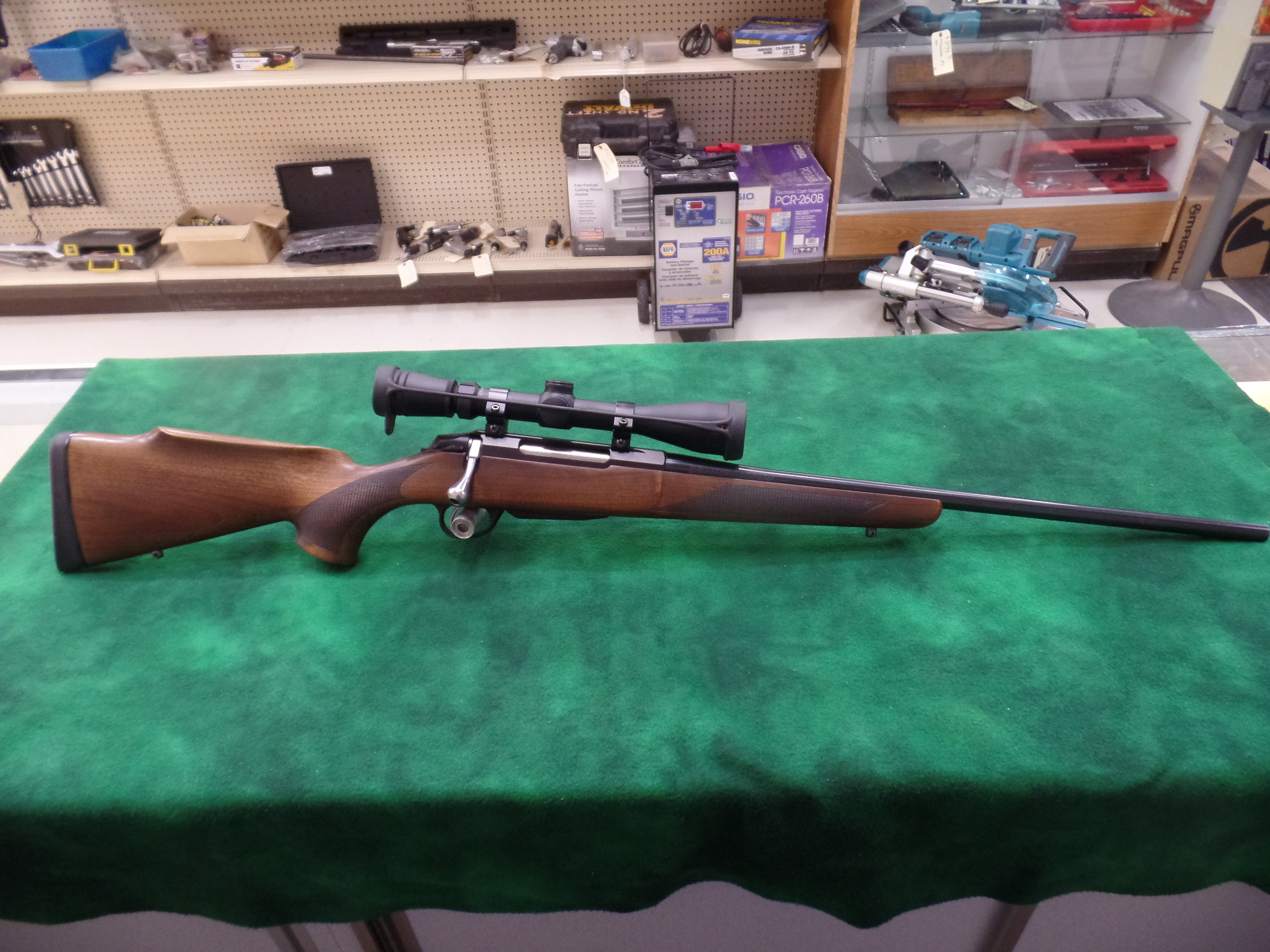 Used Tikka T3 204 Ruger W/Scope-img-0