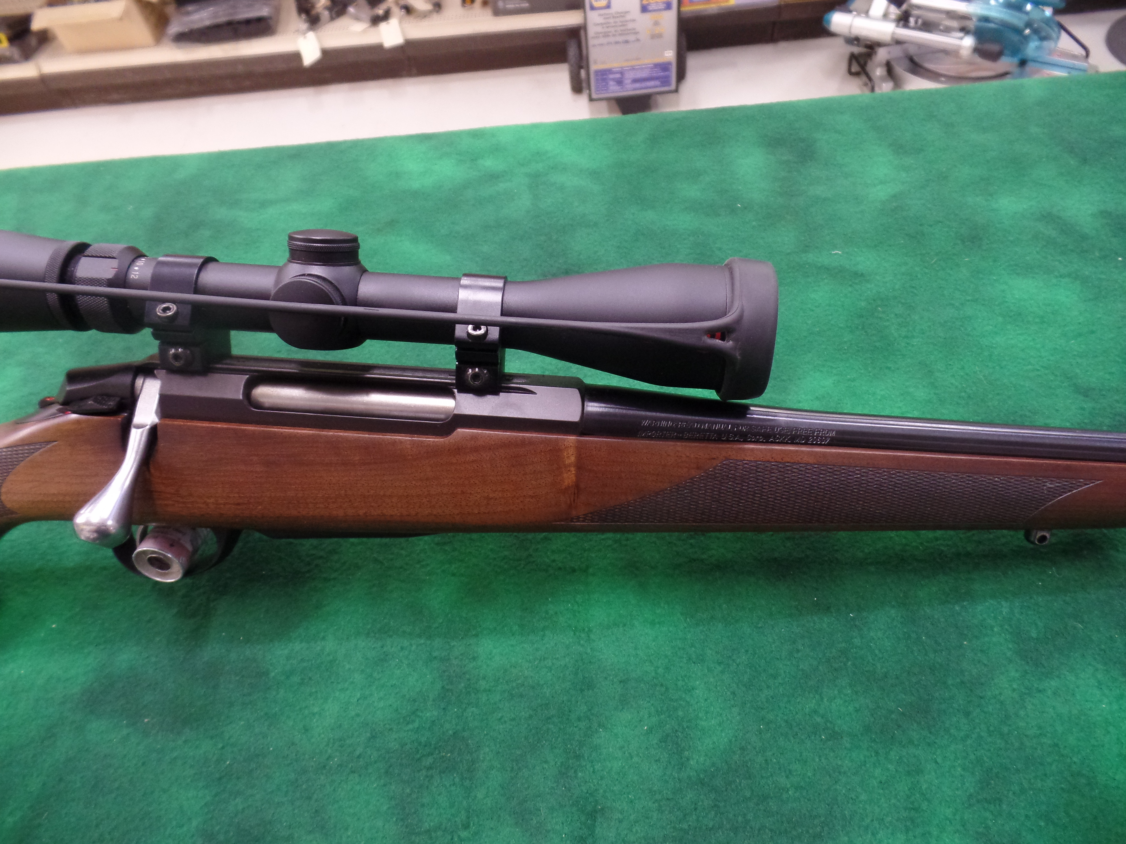 Used Tikka T3 204 Ruger W/Scope-img-2