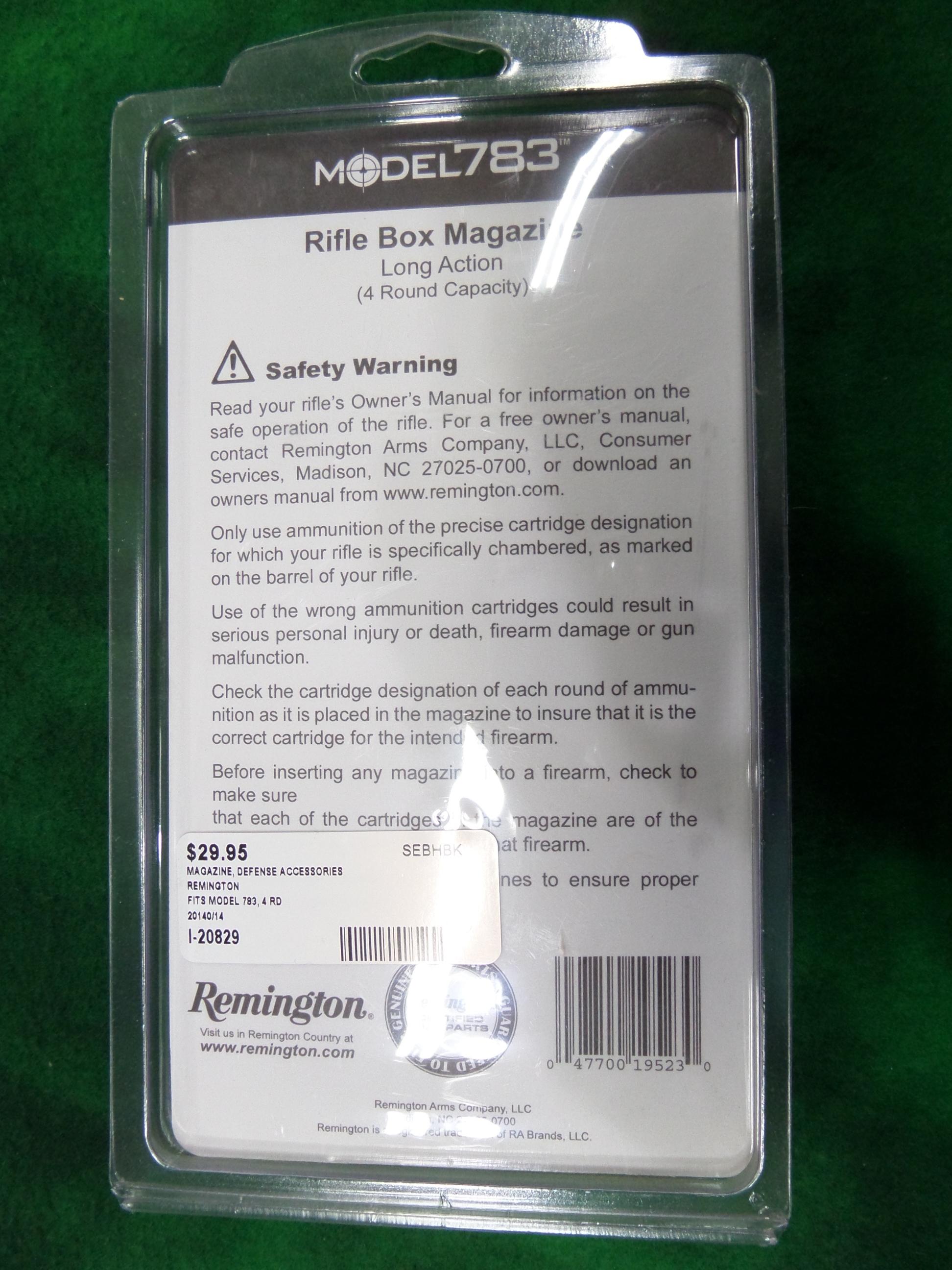New Remington 783 Long Action Magazine-img-1