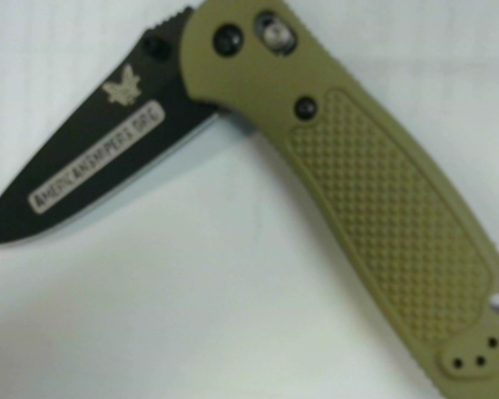 BENCHMADE - 551BKSN-AS - FOLDER KNIFE